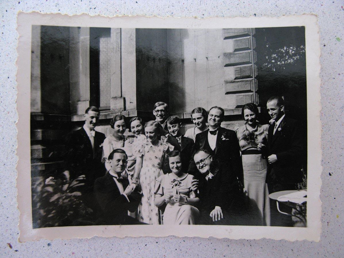 Le mariage de / Die Hochzeit von Annie Warisse, 6.7.1937 © photographe inconnu, droits réservés