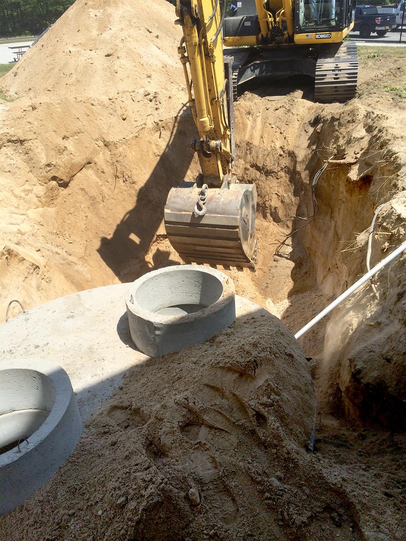Sanitary Installation IN PROGRESS 1