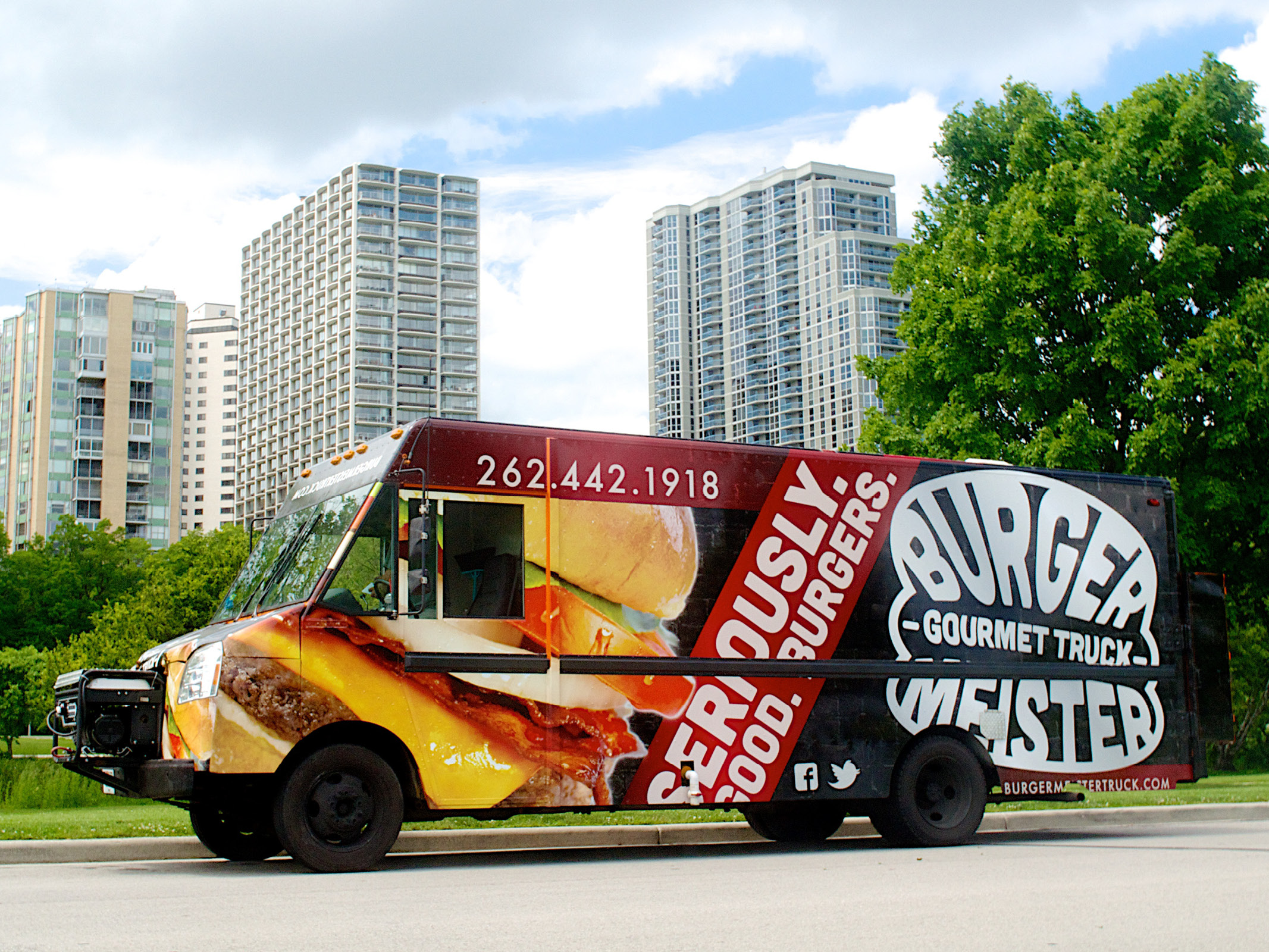 Full Truck Graphic Wrap, Logo, Branding, Art Direction,and Photography