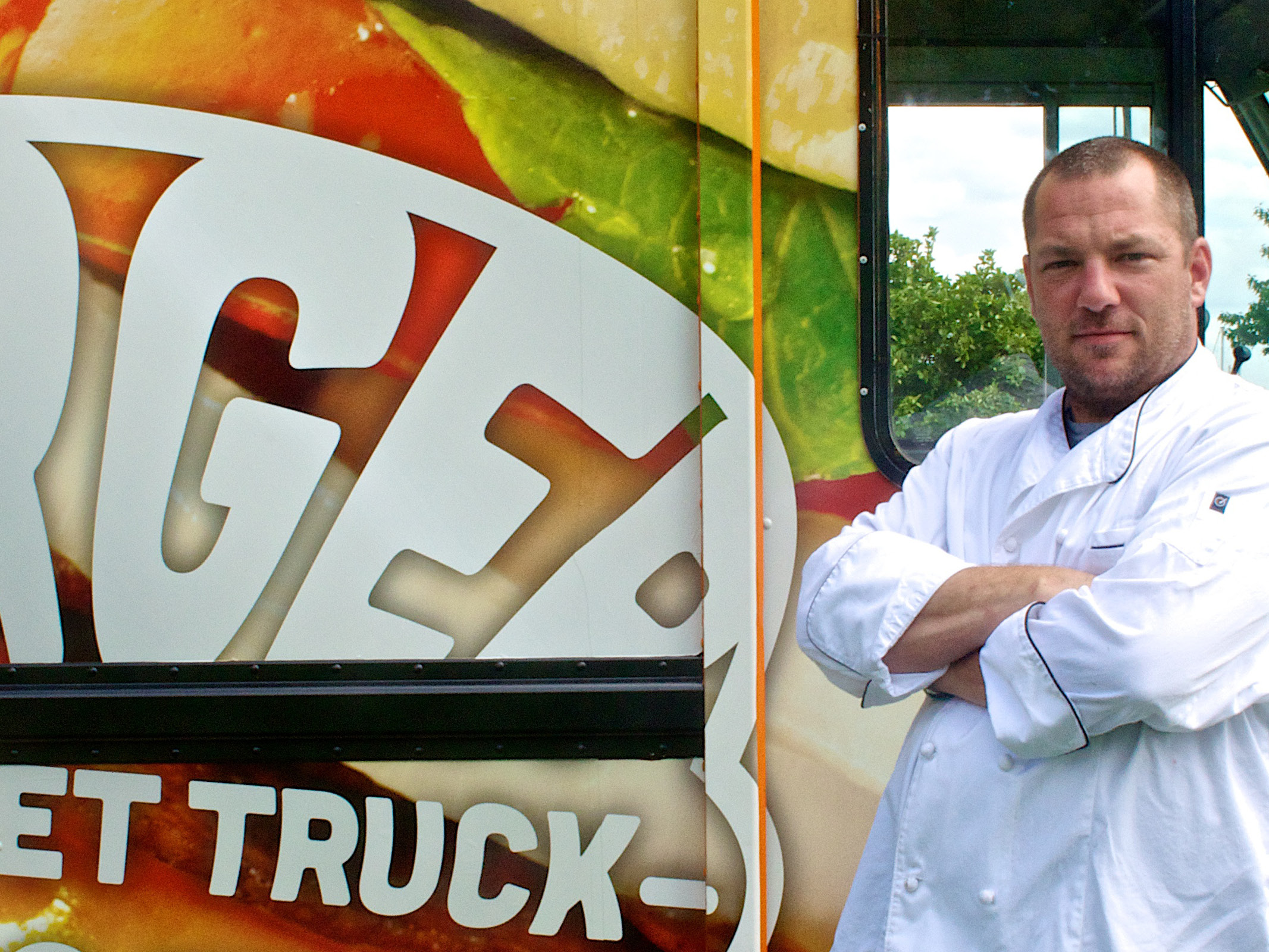Patrick Cullen -  Burgermeister  Chef - Photography and Food Truck Vehicle Graphics