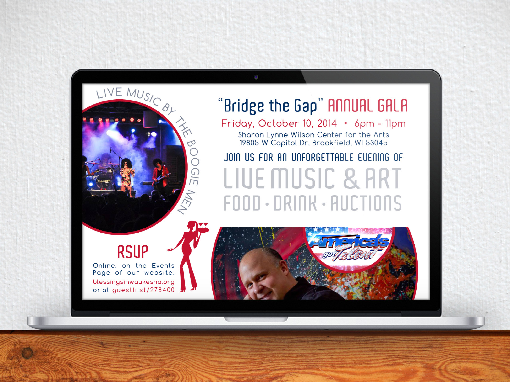 Email Marketing Campaign, Event Logo, and Art Direction
