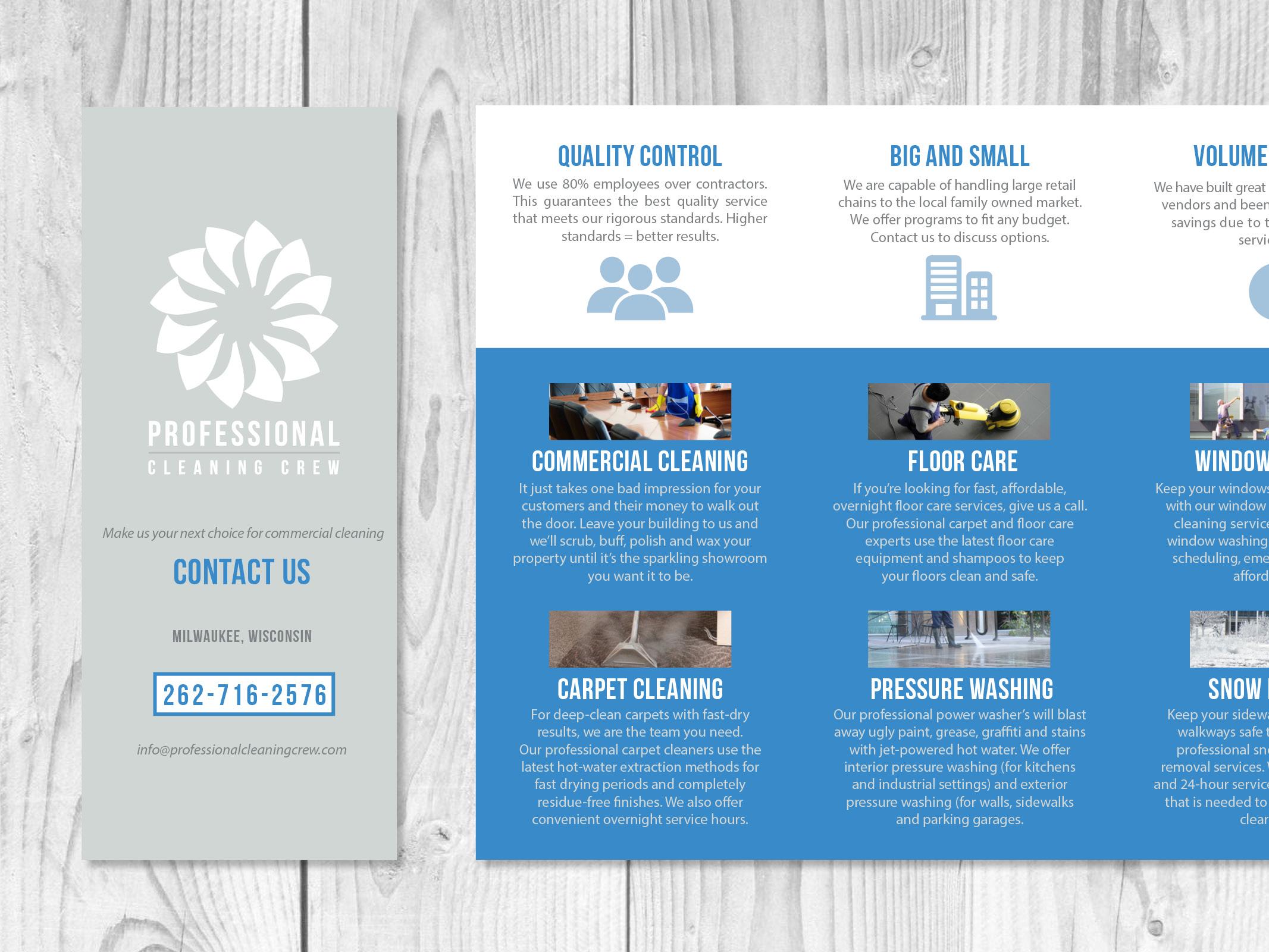 Brochure, Logo Design, Art Direction, and Branding