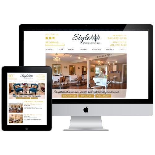Client:  Style Salon & Boutique