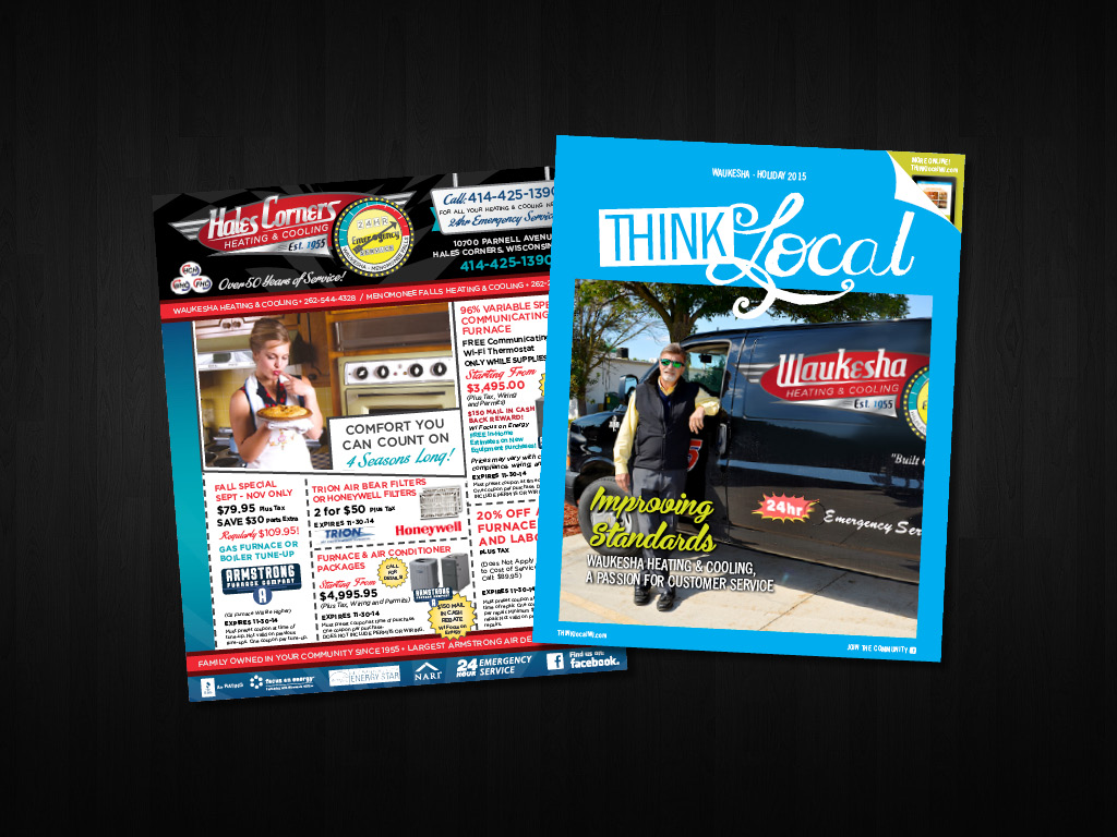 Advertising, Art Direction, and  THINKlocal  Magazine Cover Photography
