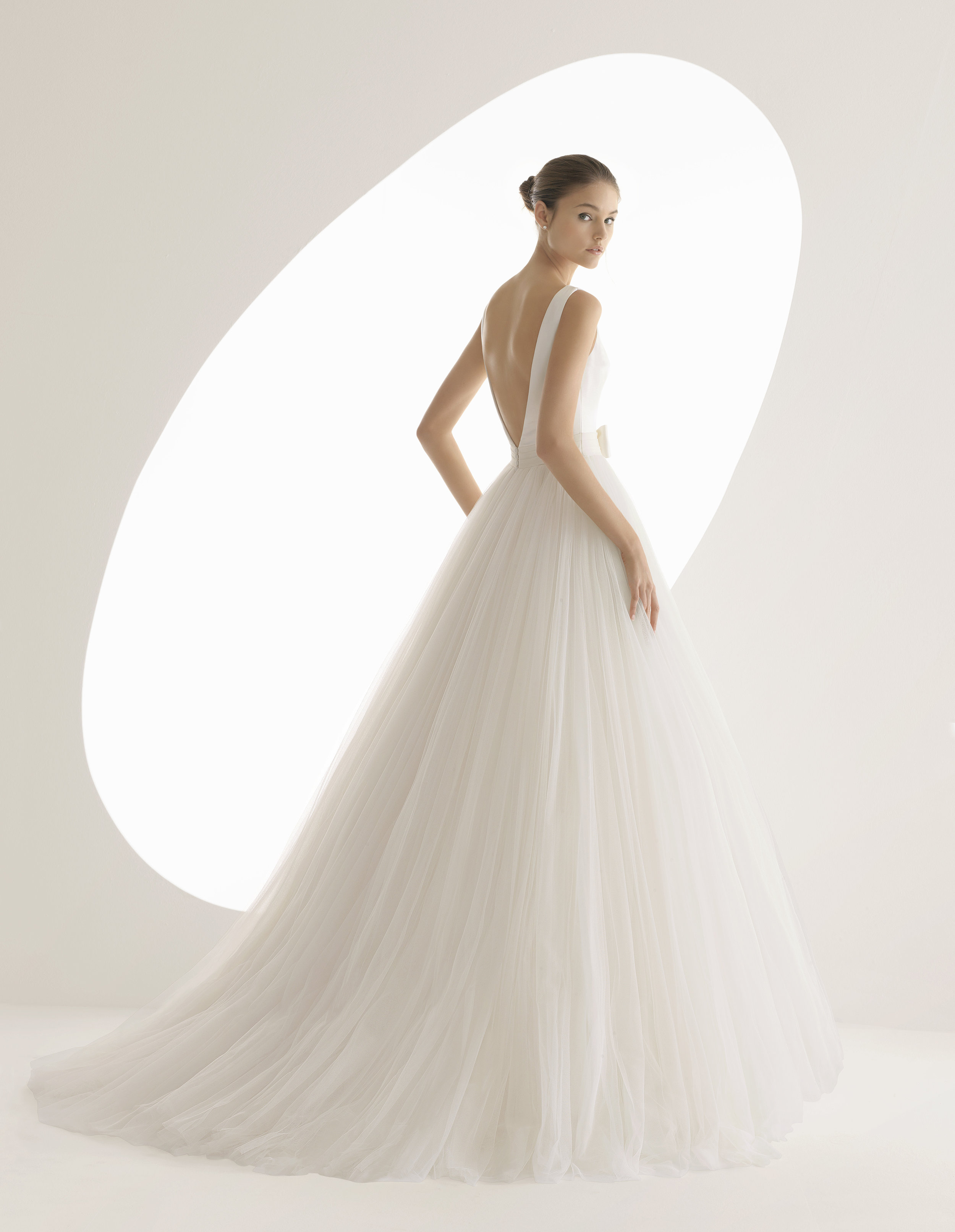 Rosa Clara Alada has an incredible tulle skirt which is so soft to touch its like a cloud.