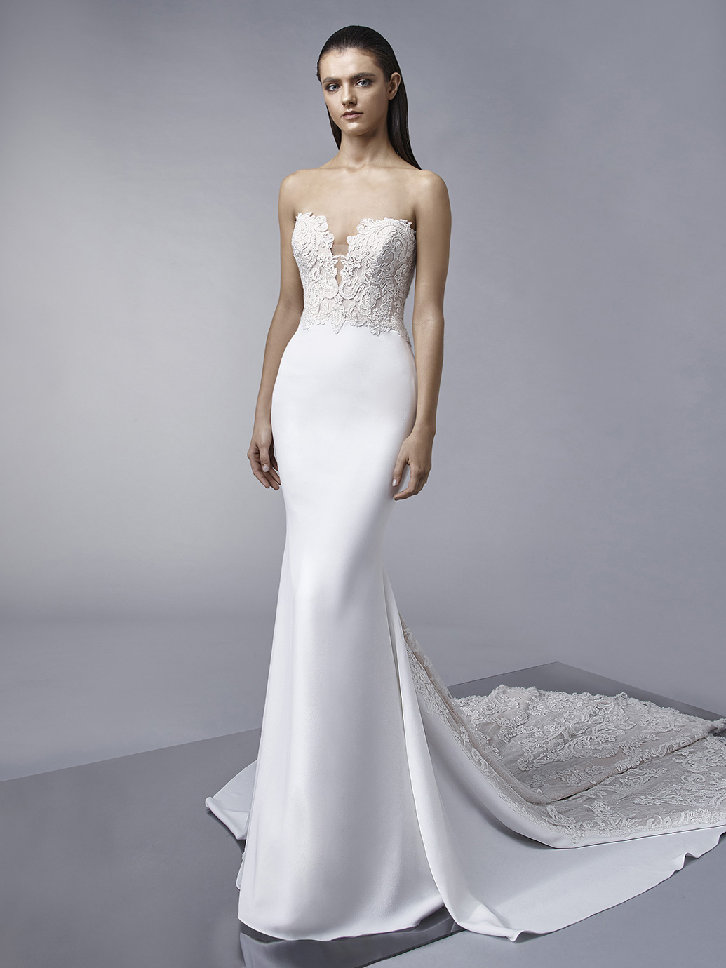 Marnie by Enzoani. Size 12. Was £2235 Now £1200