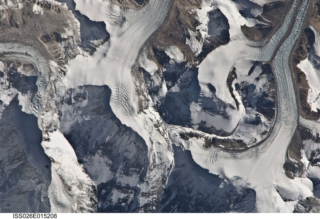 Mount Everest from the International Space Station