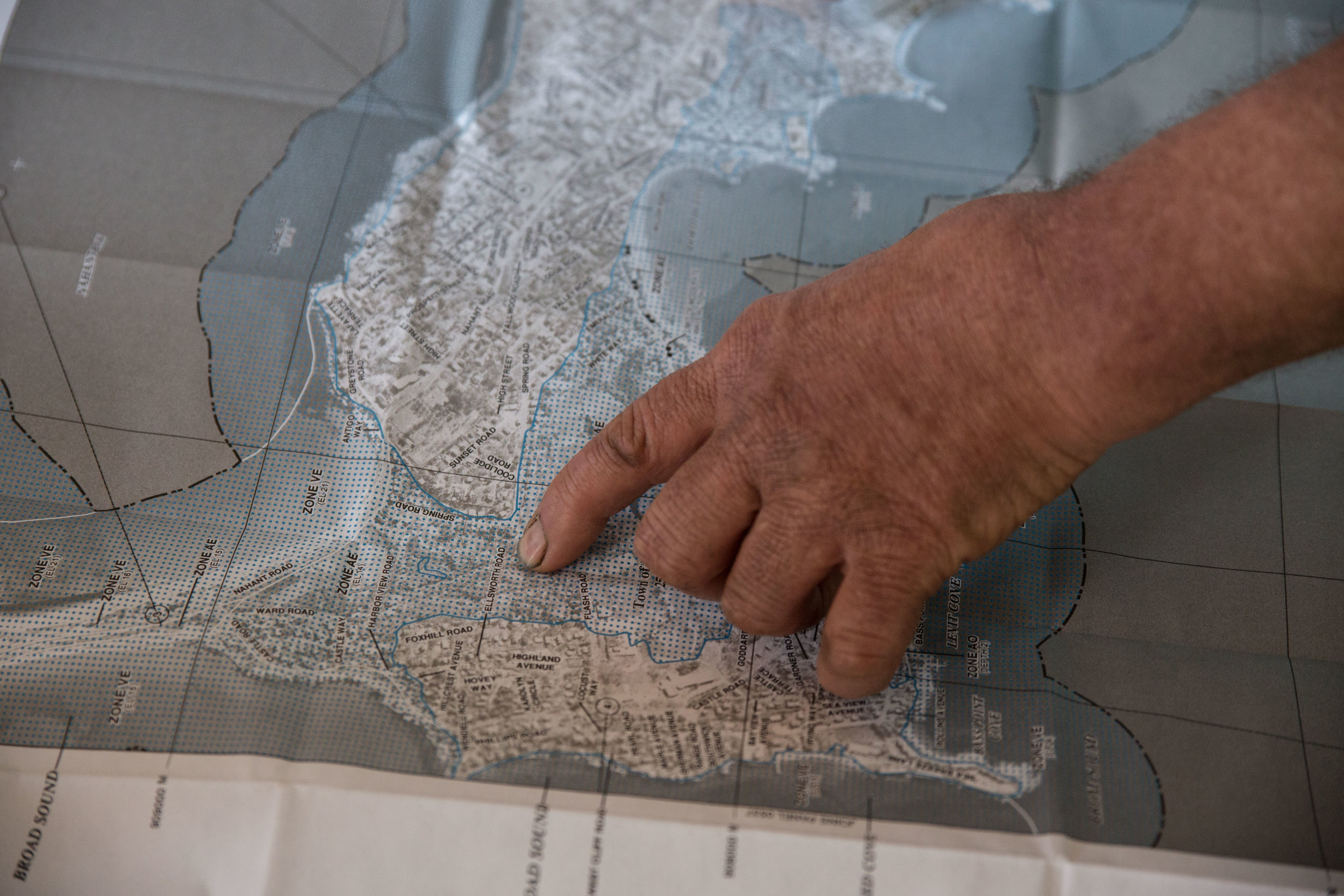 Barile has spent plenty of time with the federal flood risk maps for Nahant. The town recently hired a consultant to correct inaccuracies in the underlying data that FEMA used to create these maps.