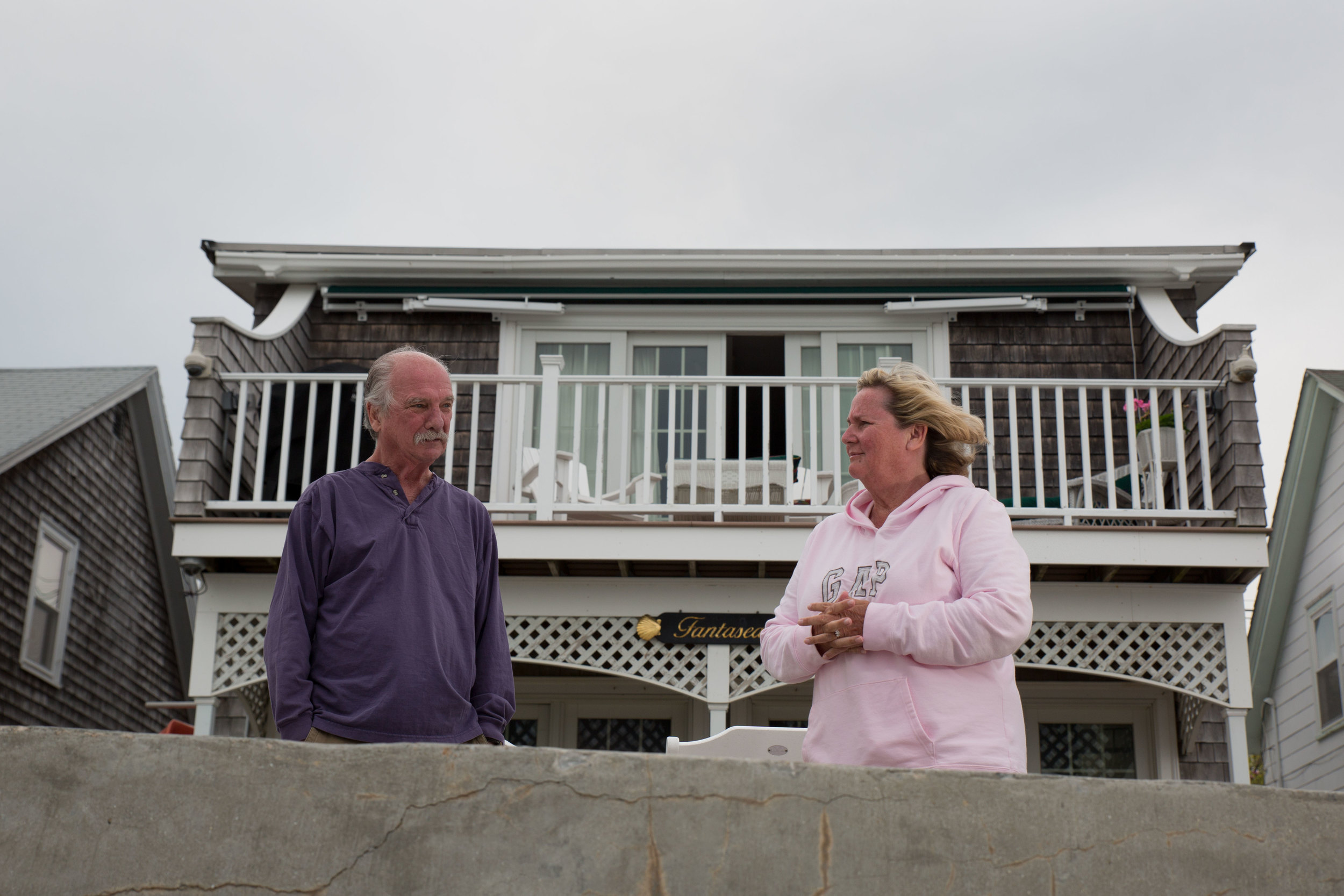 Dave and Chris Lazzaro have lived in their home on the water for decades. Over the past 50 years the home has sustained flood damage a half dozen times. Twice - in 1978 and 1991 - that damage was serious.