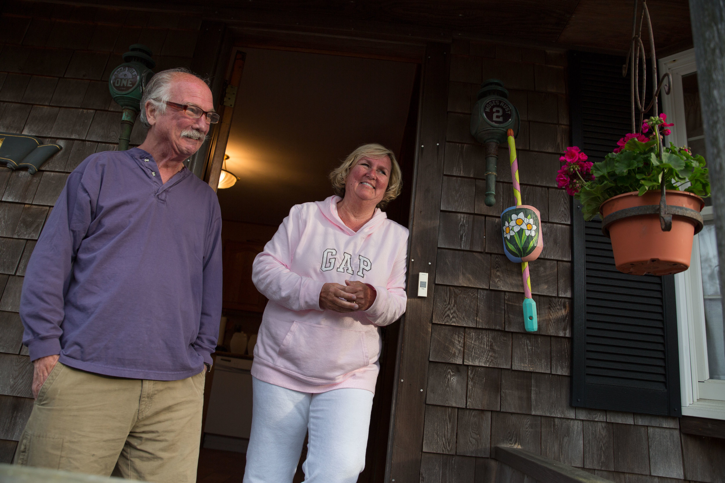 Dave and Chris Lazzaro disagree when you ask if they would take the risk of living in their home without flood insurance, but their rates have been slowly rising for years.