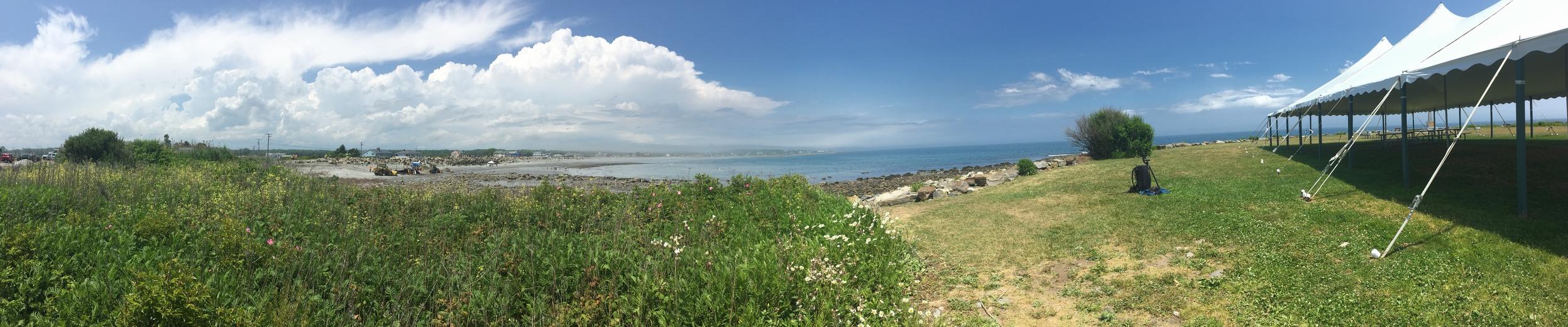 Panoramic hill