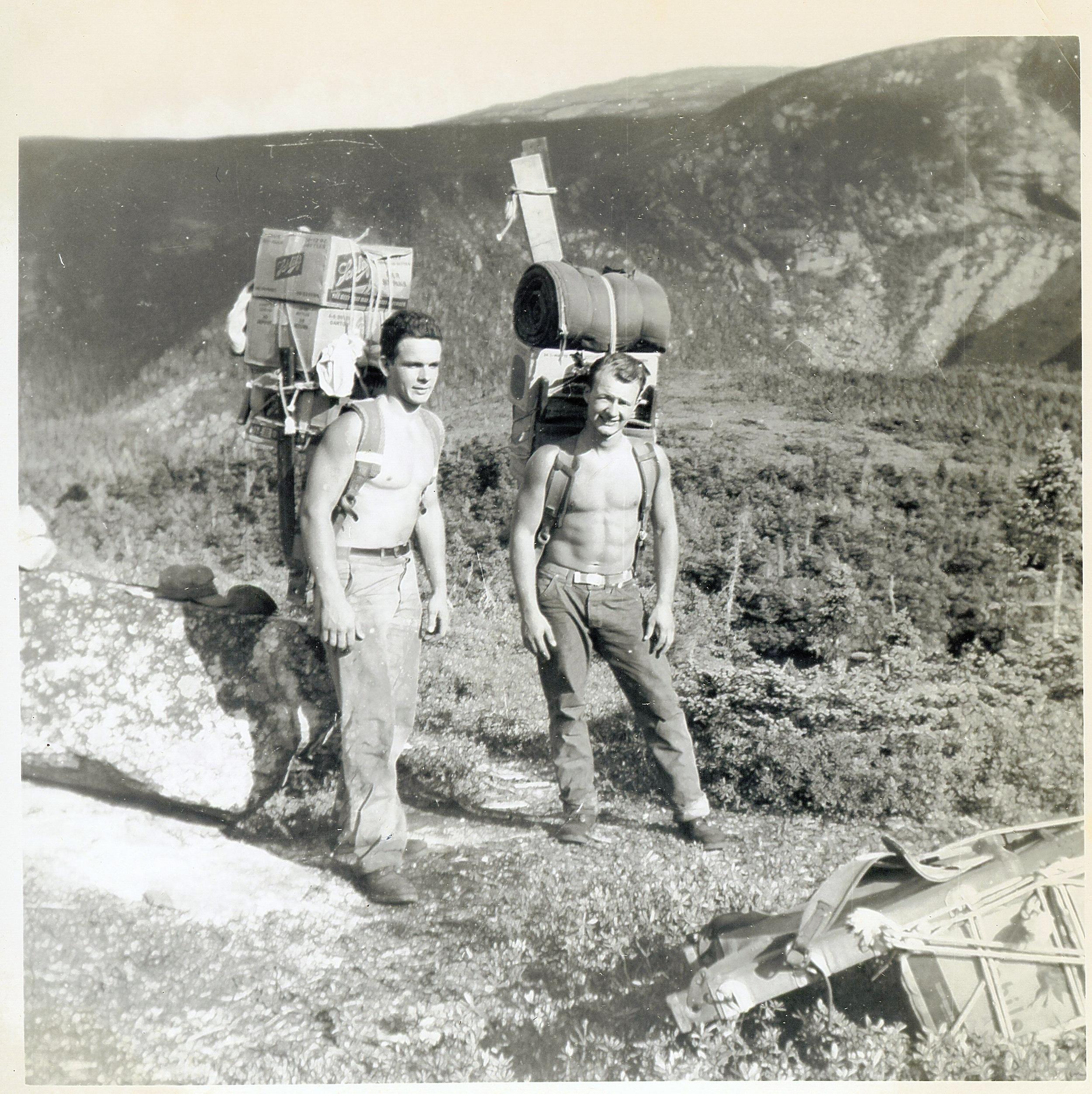 1952 - Katahdin Trip - Bob Watts &  Bob Willard