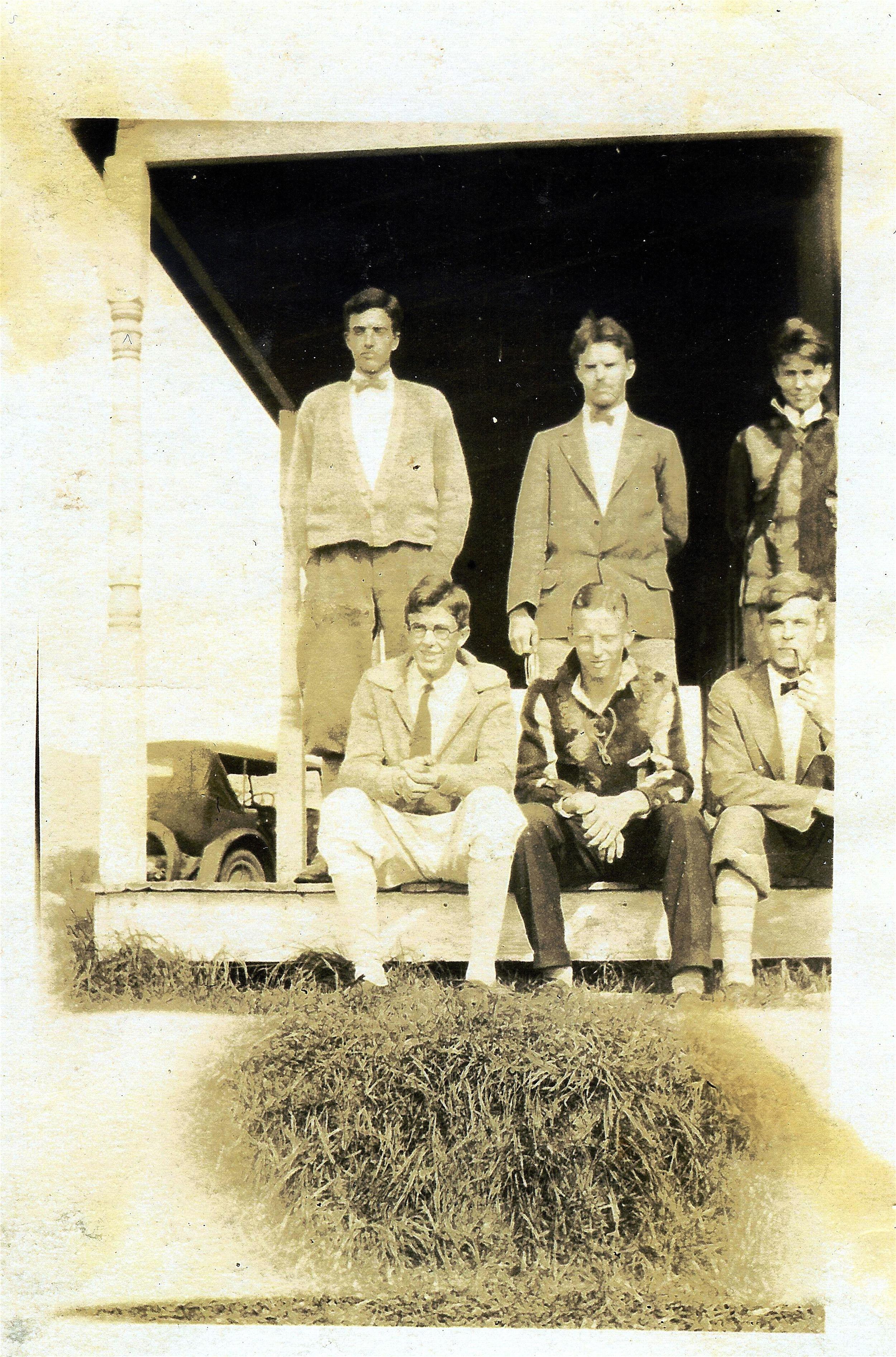 1926 Trail Crew at Locust Cottage