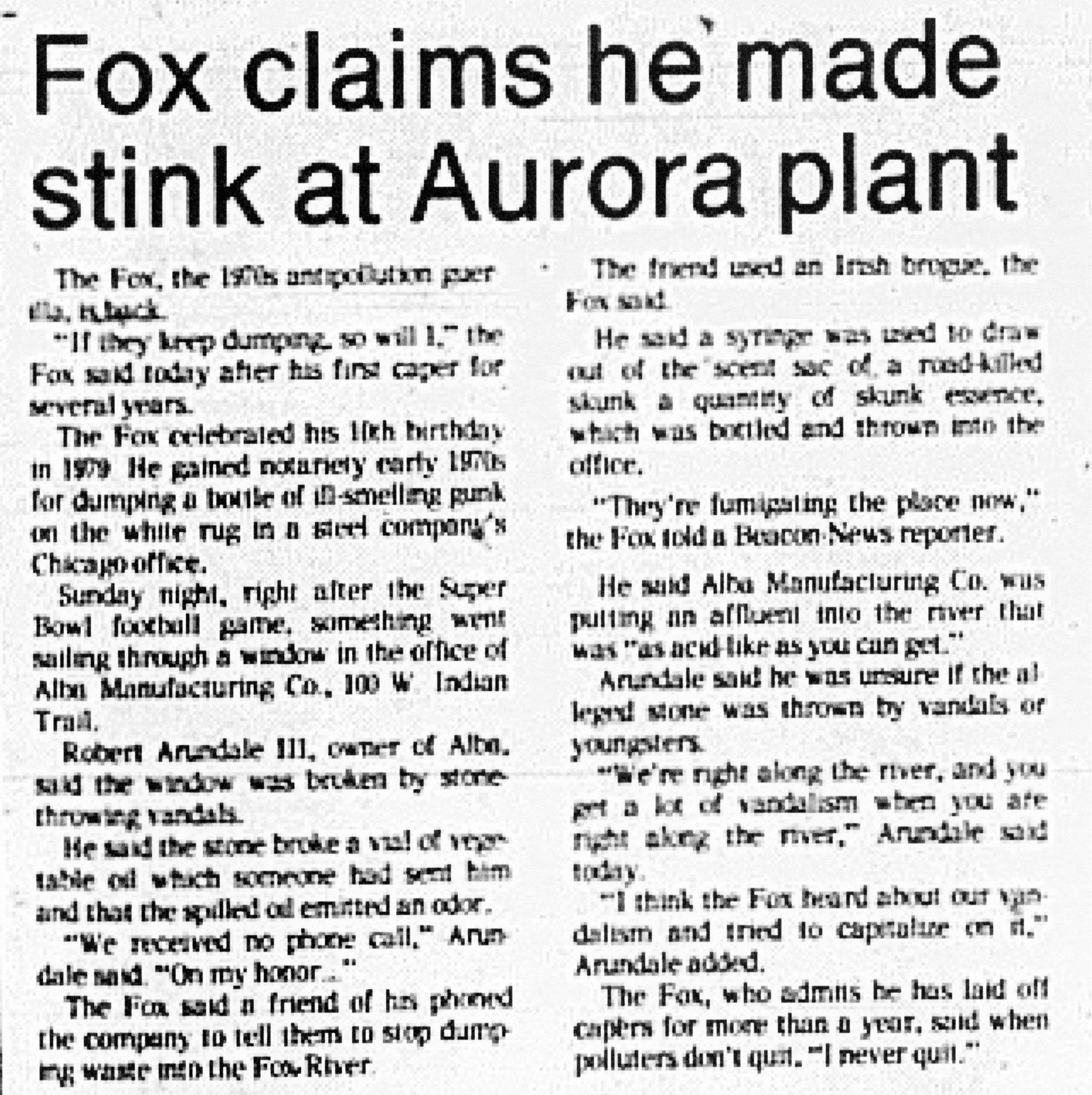 The Aurora Beacon News | January 22, 1980 | Page A5