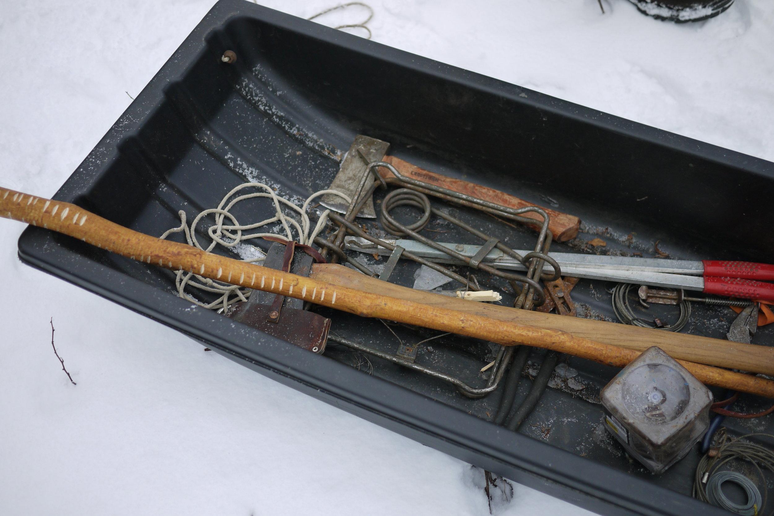 Jeff Traynor's tools.