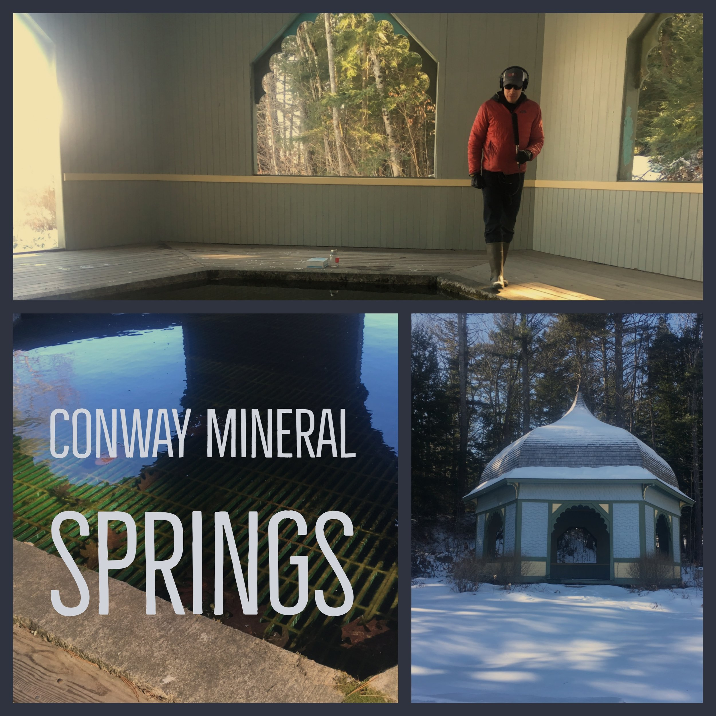 - We had water from Conway Mineral Spring in North Conway, New Hampshire, tested for a variety of contaminants and found that it did violate EPA standards for Total Coliform Bacteria. Click here to see the complete results.