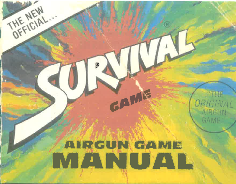 Tony Atwill, THE GREEN BERET, wrote a manual for The Survival Game that doubled as multi-chapter advertisement for the company.