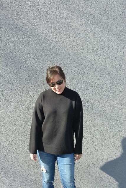 Everlane Luxe Double Knit Mockneck review