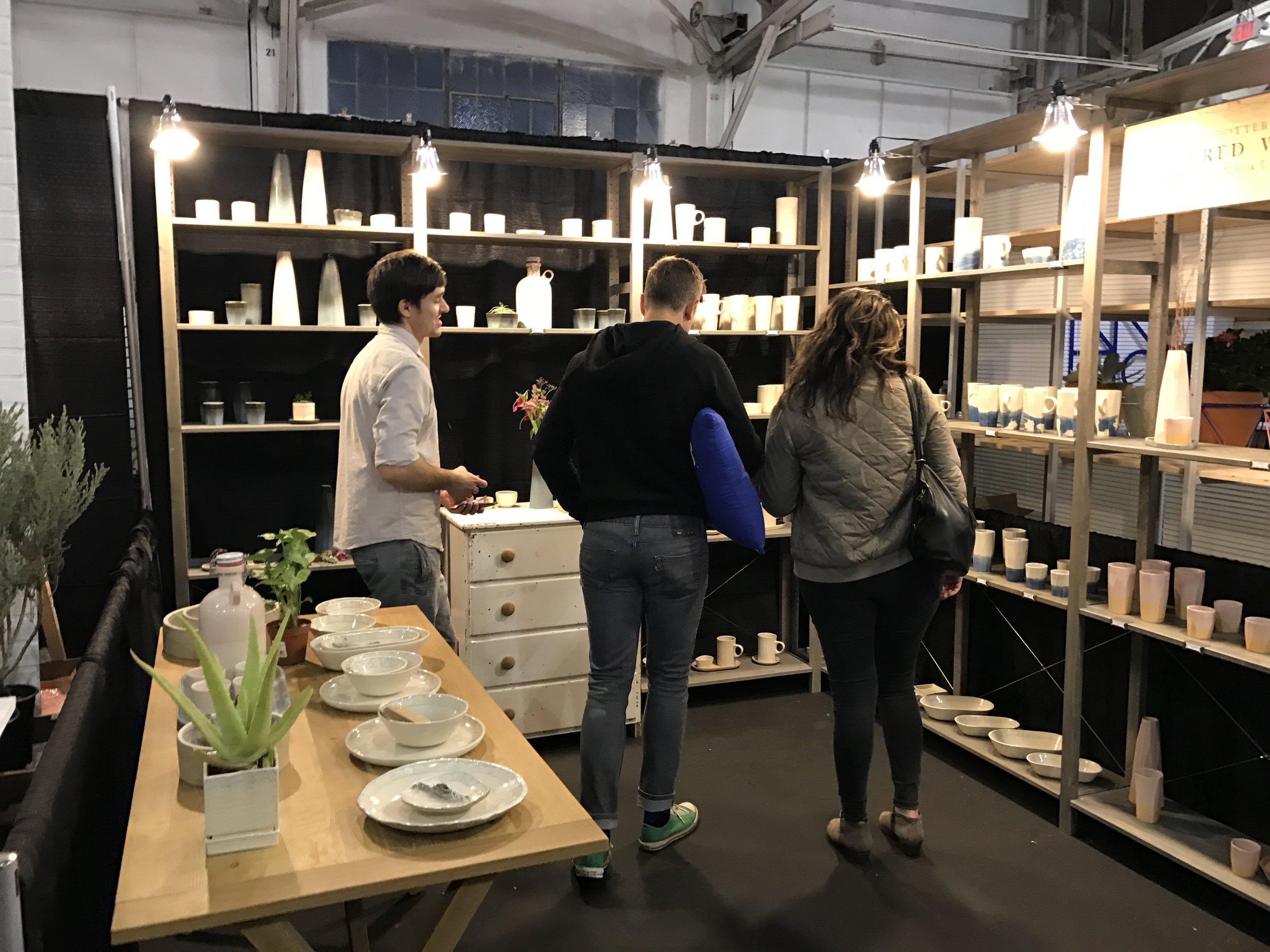 Scenes from last week's West Coast Craftfair