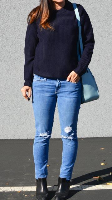 Grana Review Chunky Rib Knit Merino Boyfriend Crew Neck Sweater (1 of 4).jpg