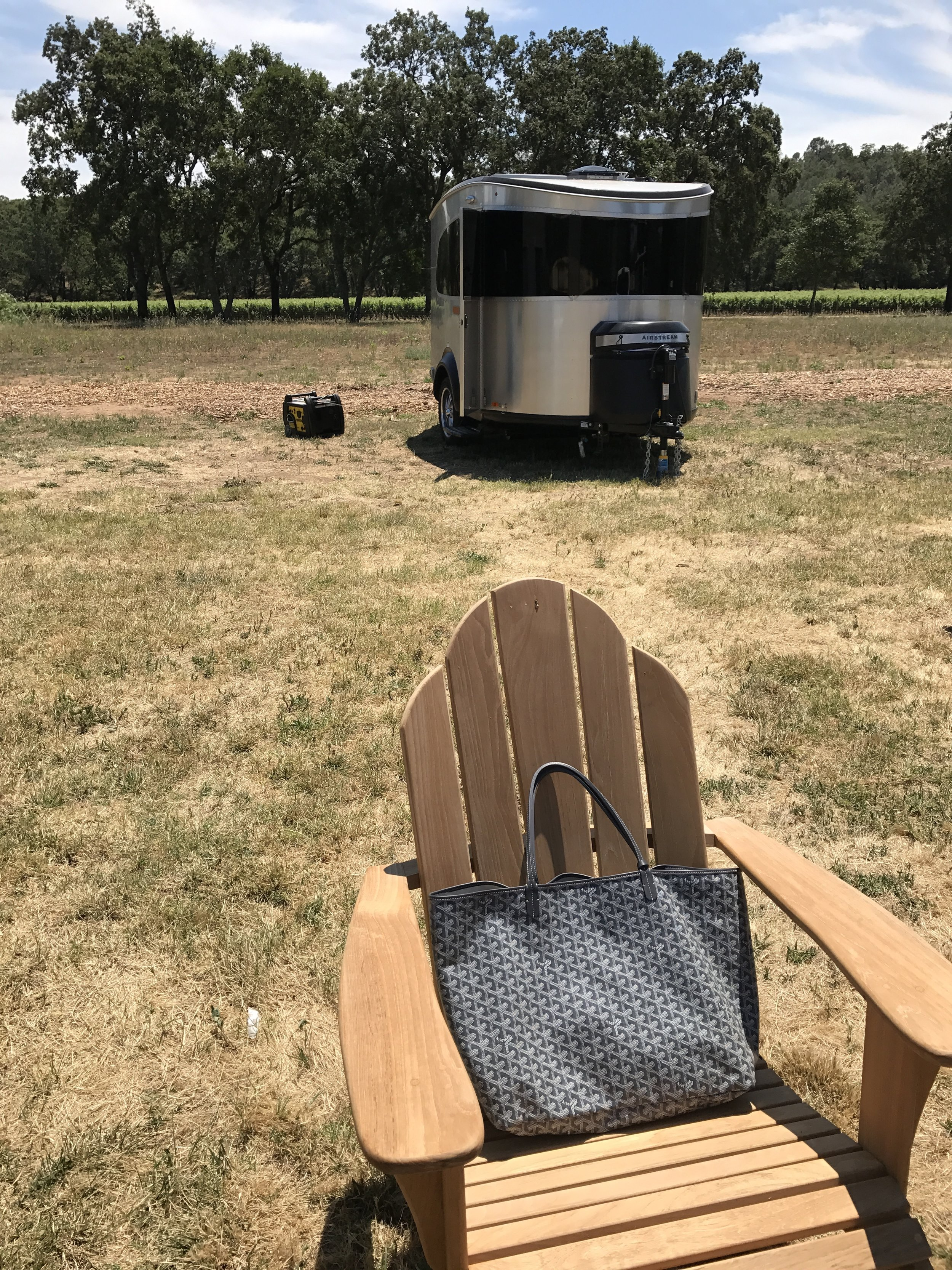 My two loves: Airstreams and bags