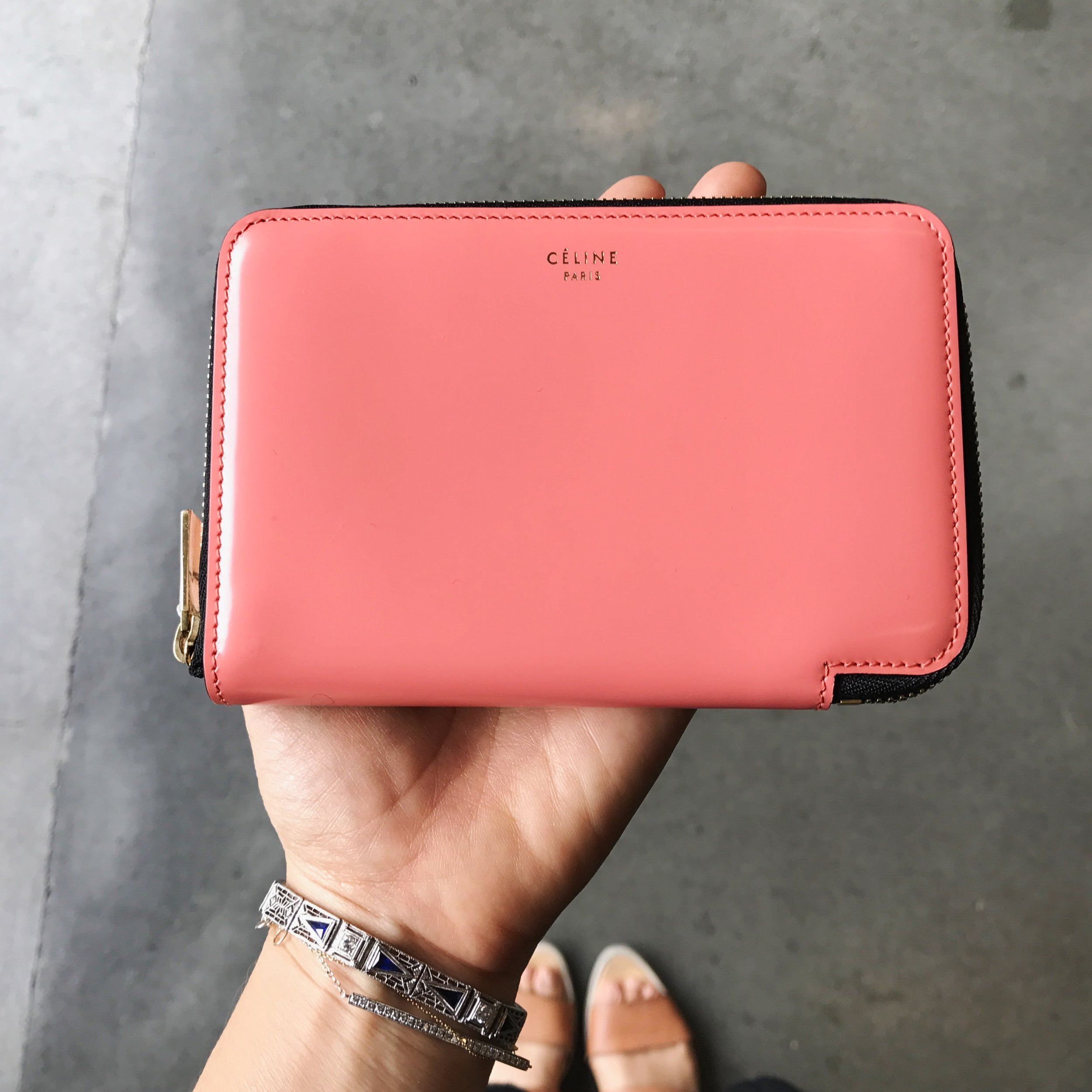 Celine wallet purchased from Fashionphile