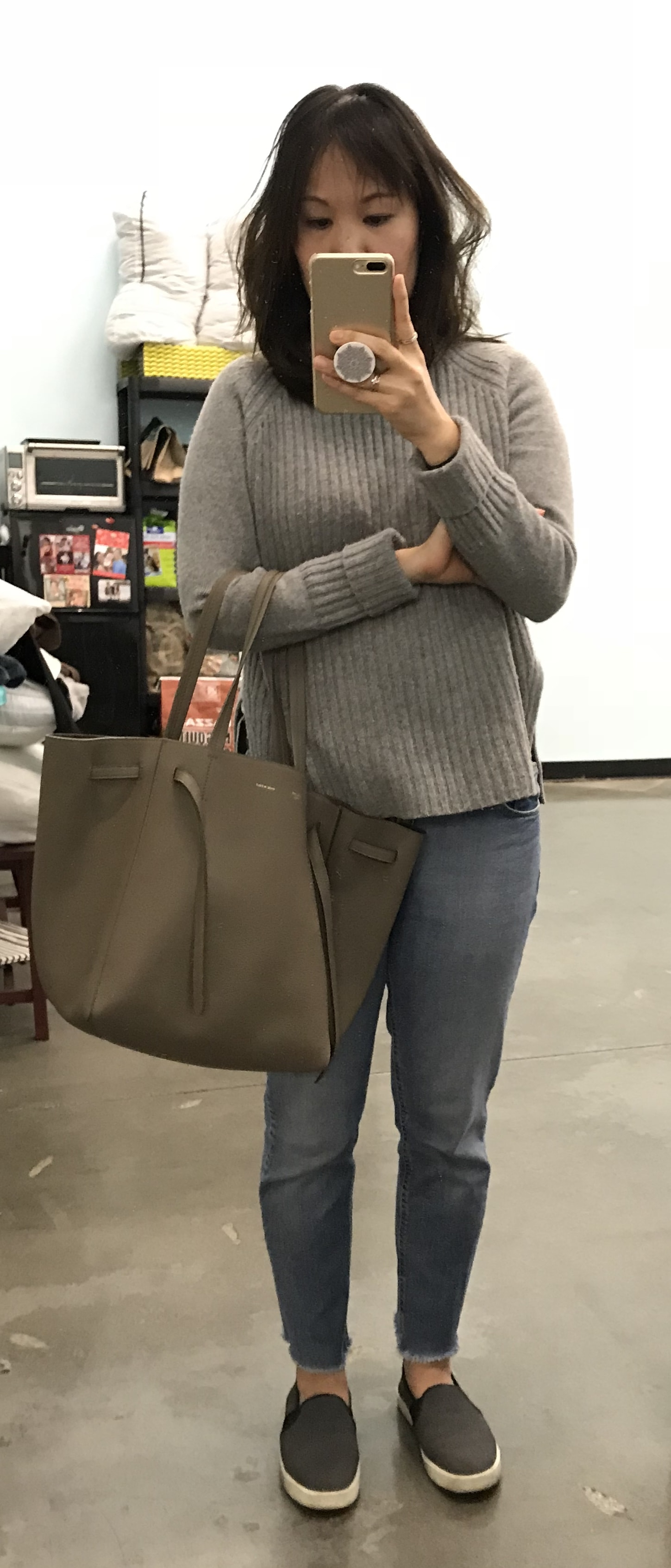 celine review cabas phantom tote