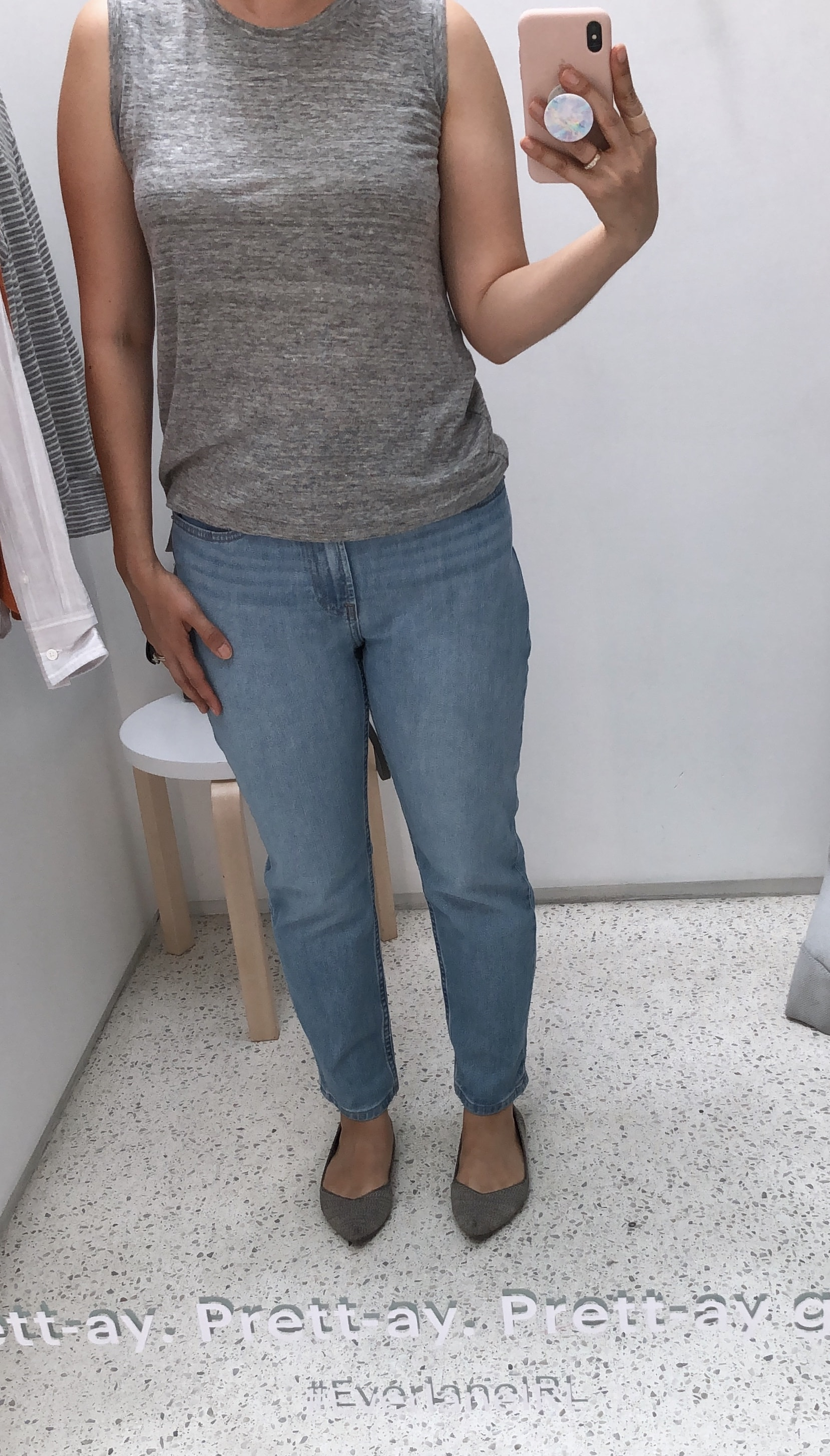 Everlane Cheeky jean review
