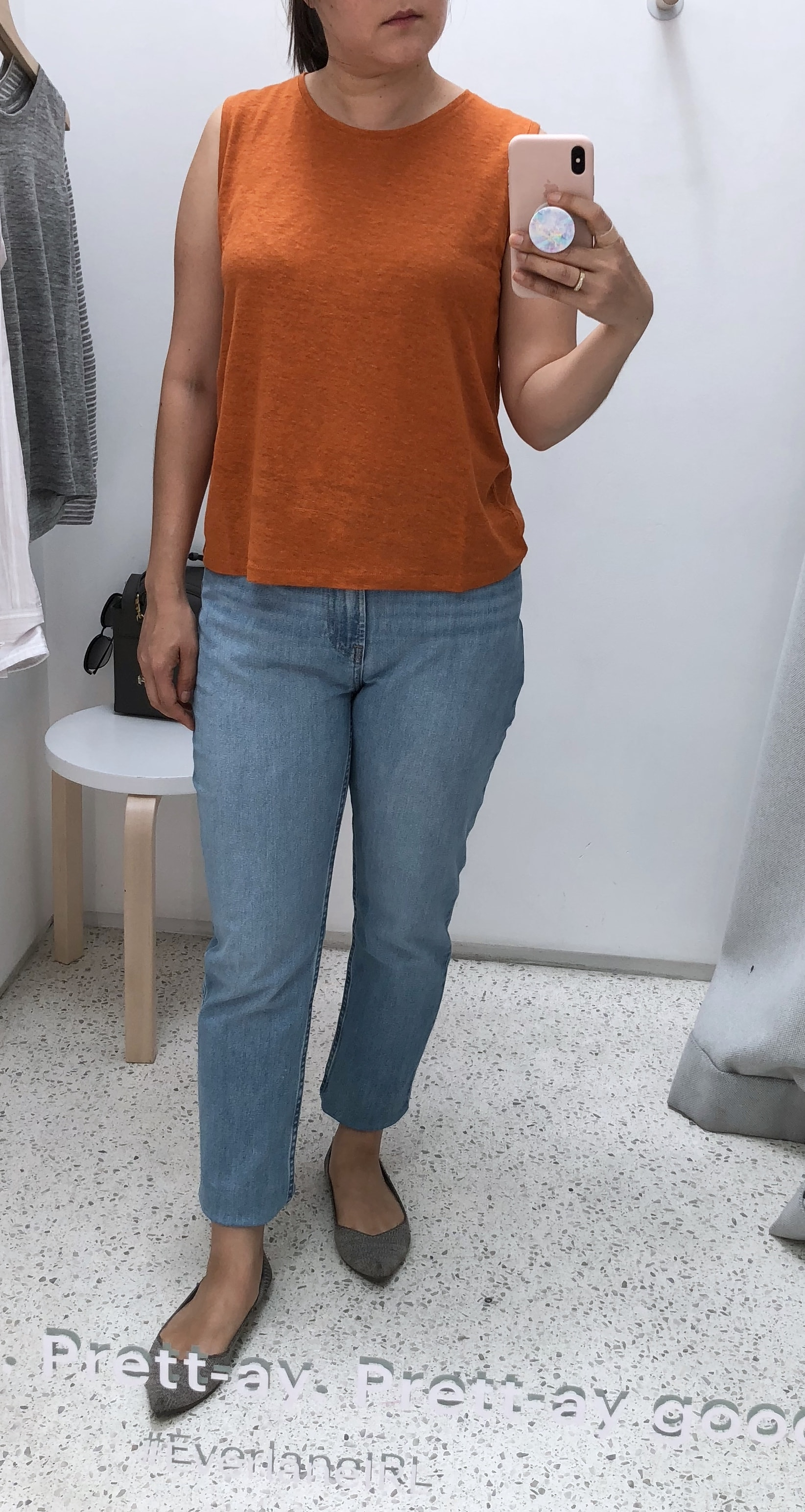 Everlane review cheeky jean