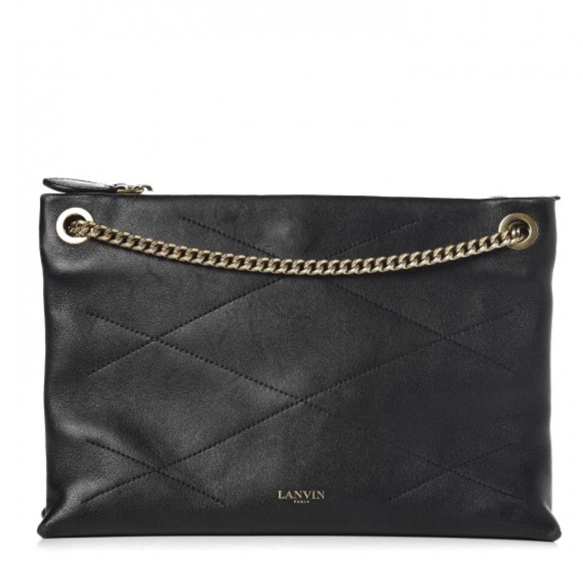 Lanvin Quilted Sugar Shoulder bag ($450)
