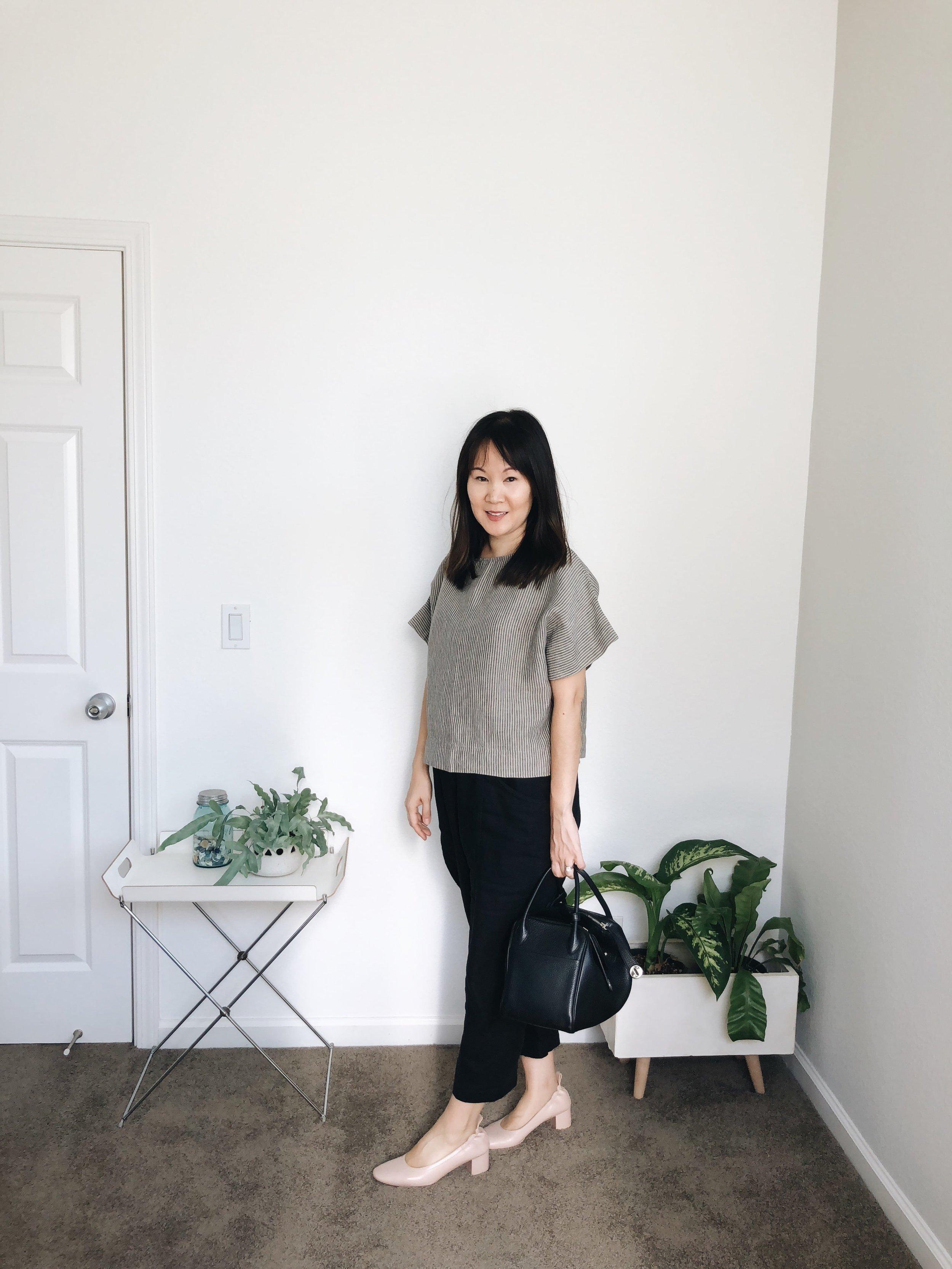 Linenfox Kimono top review