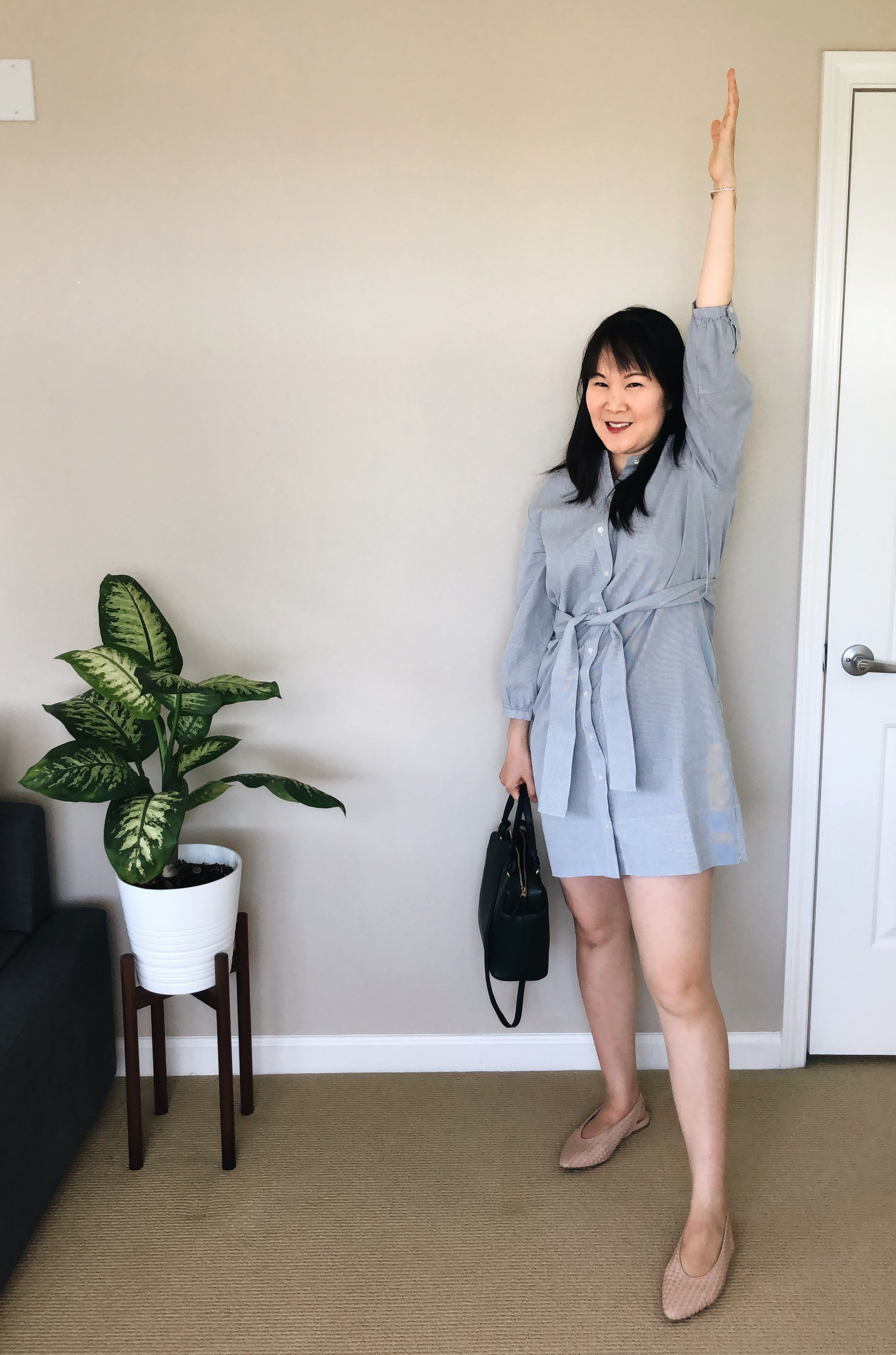 everlane review cotton weave