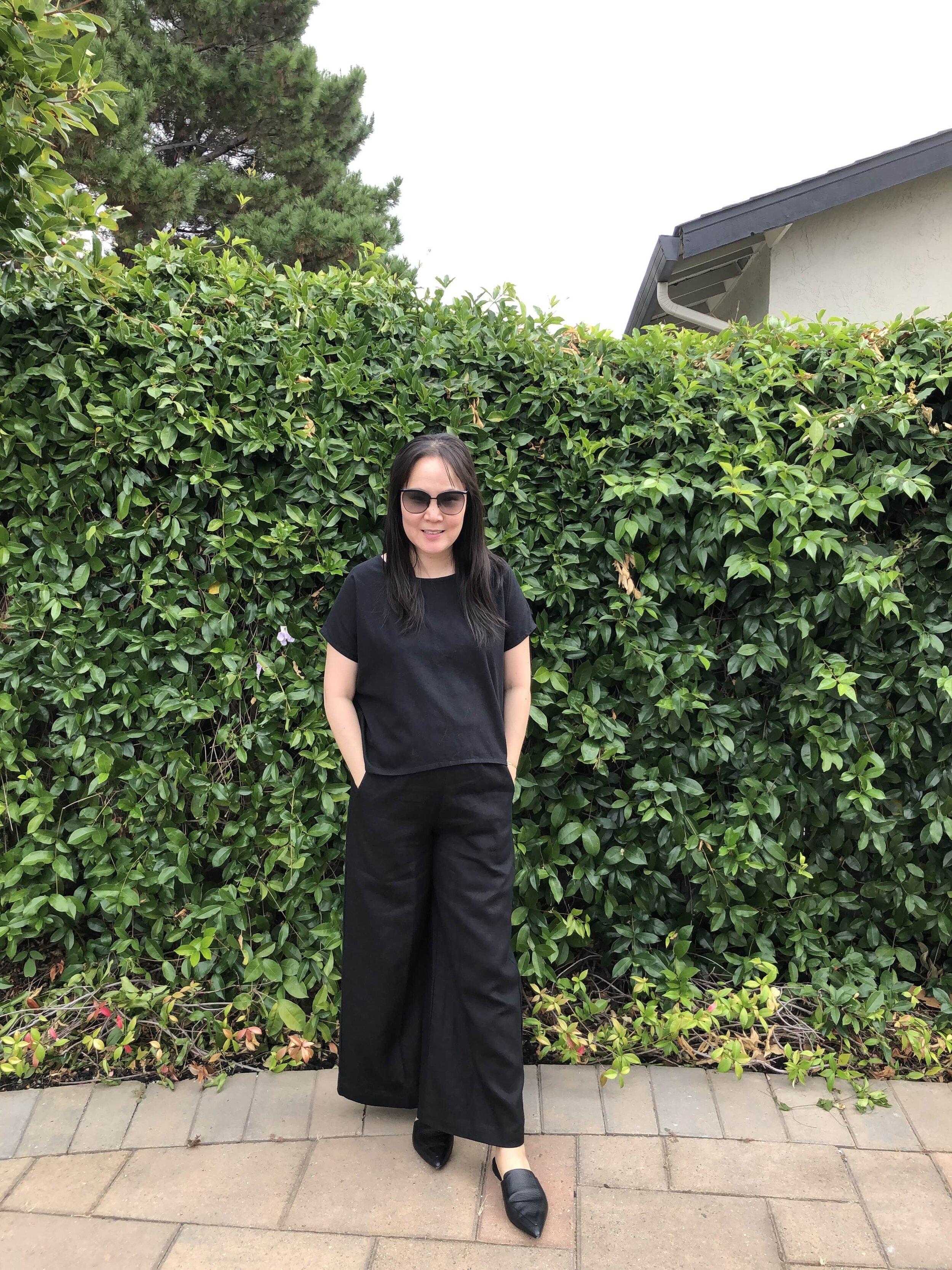 Linenfox review wide leg pants