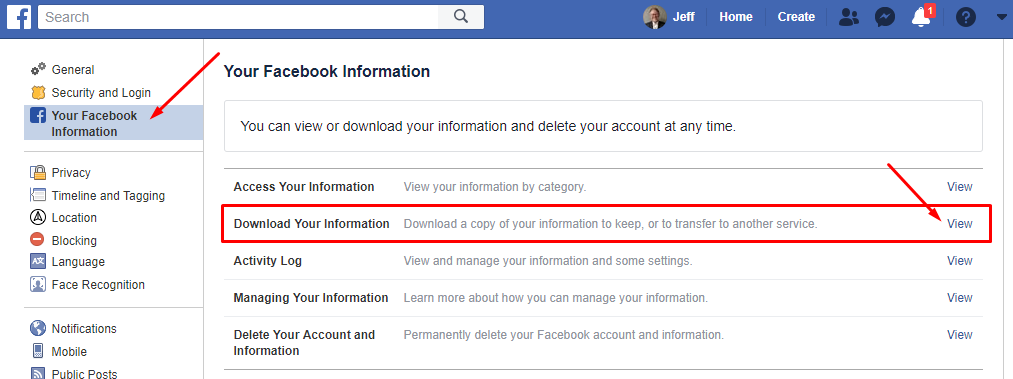 Export Contacts And Email Addresses From Your Facebook