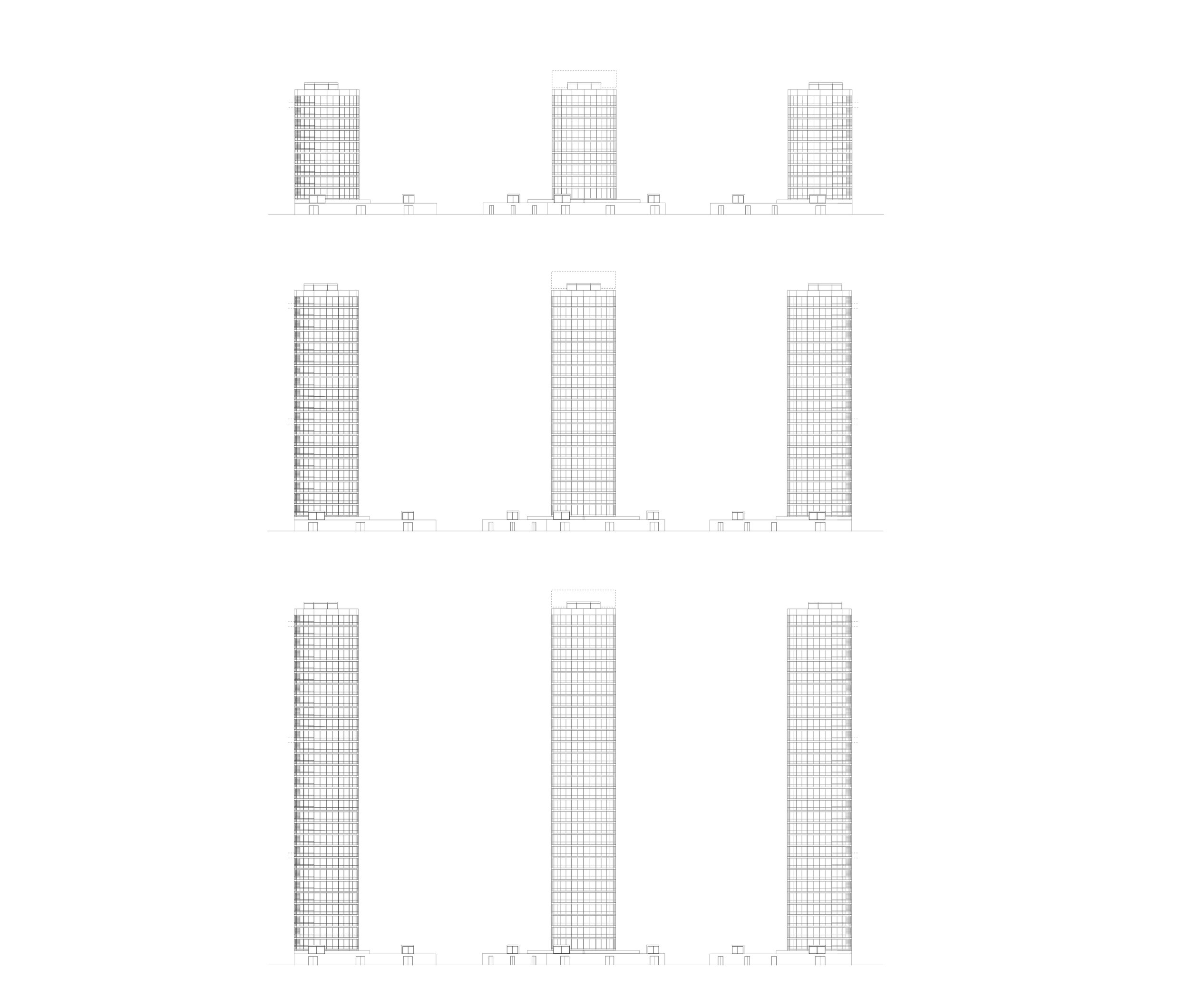Pencil Towers