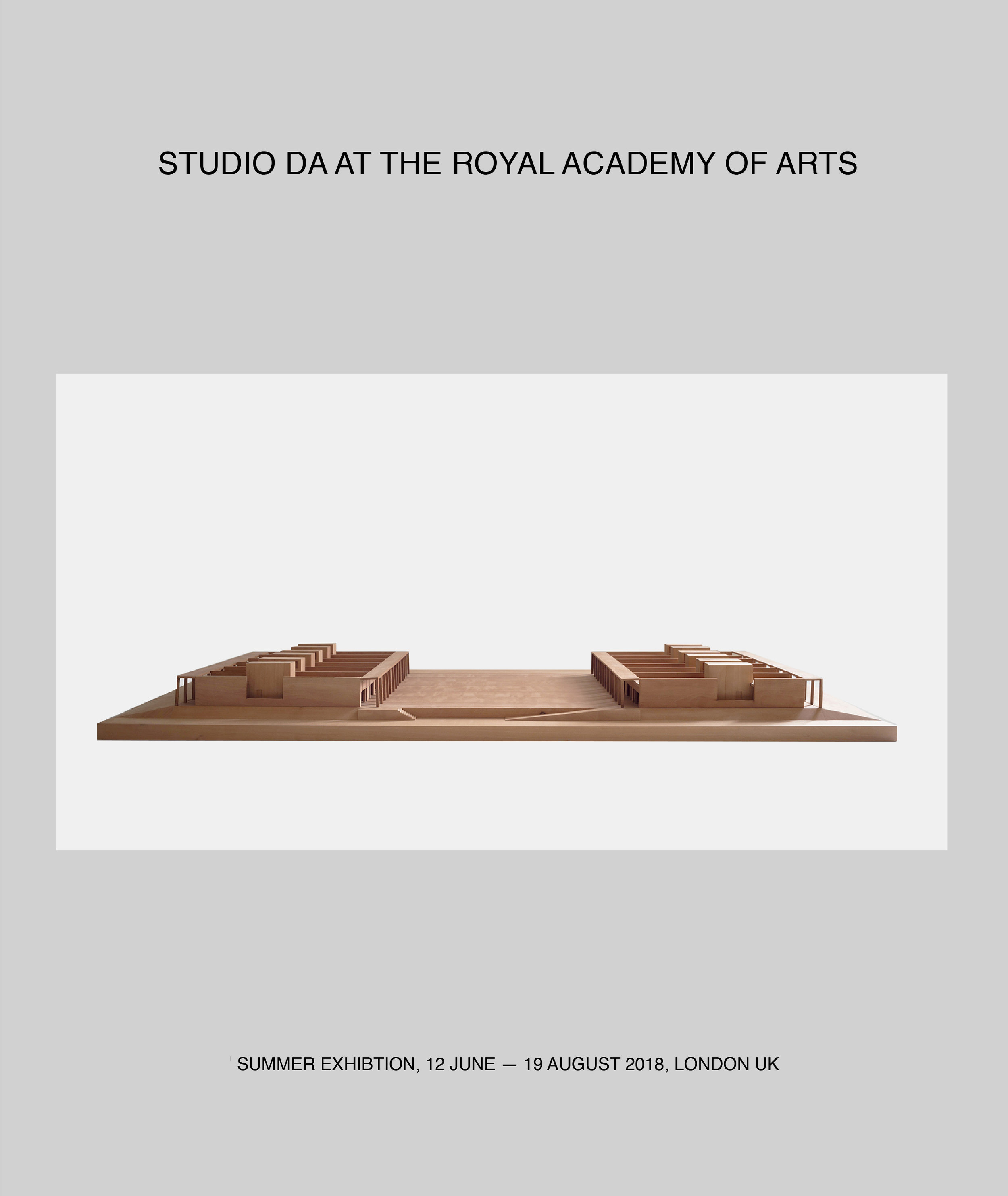 Studio DA is a new office formed by Pereen d'Avoine (   Russian for Fish   ) and Pierre d'Avoine to work on exhibitions, special small projects and competition designs. For more information go to studio DA under About.