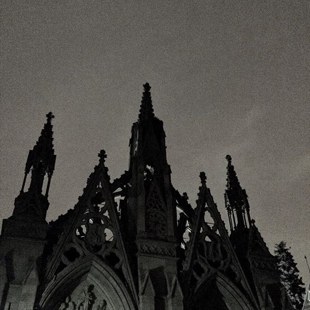 Midnight at Greenwood Cemetary