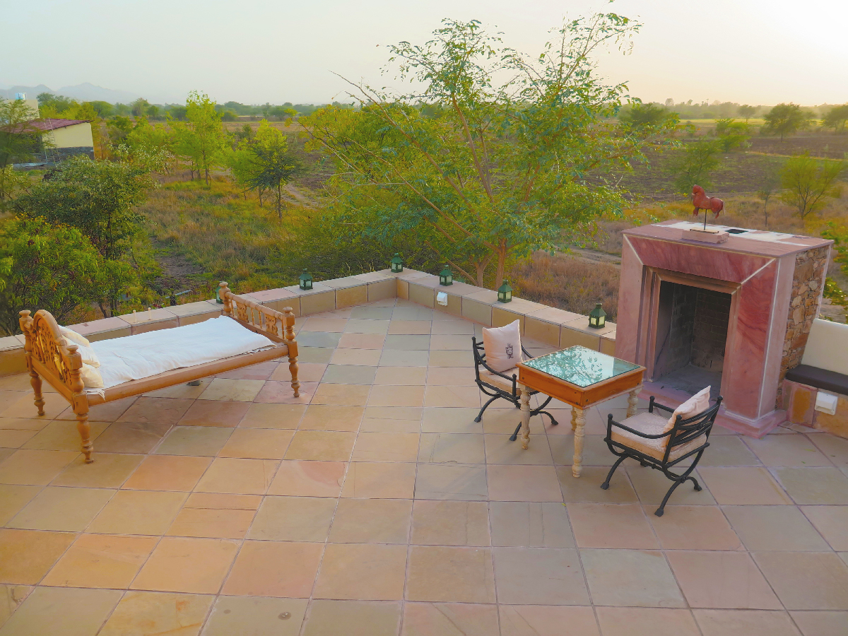 Boutique sit-out | Rajasthan, India