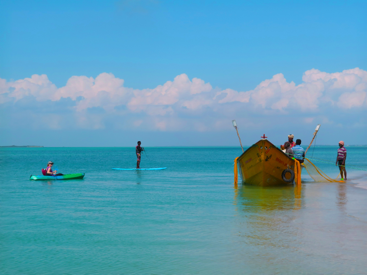 Exclusive Kayak & SUP holidays in the deep south | Rameshwaram, Tamil Nadu, India