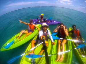 KAYAKING TRIPS IN THE GULF OF MANNAR, RAMESHWARAM, INDIA