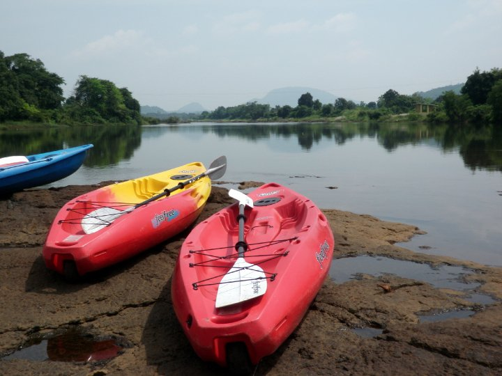 KAYAKING TRIPS IN KOLAD, MAHARASHTRA, INDIA
