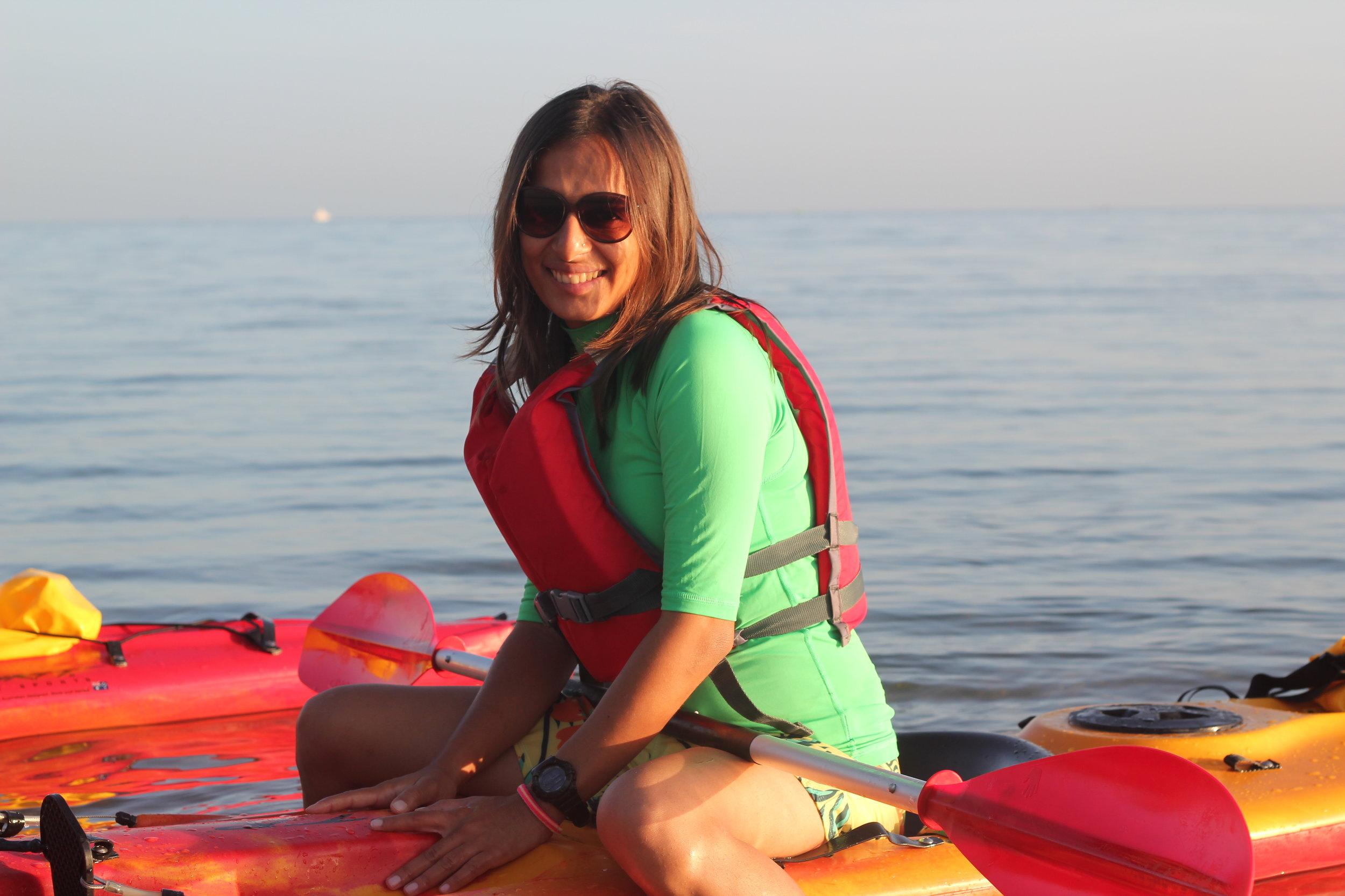 Upasna-Mody-Kayaking