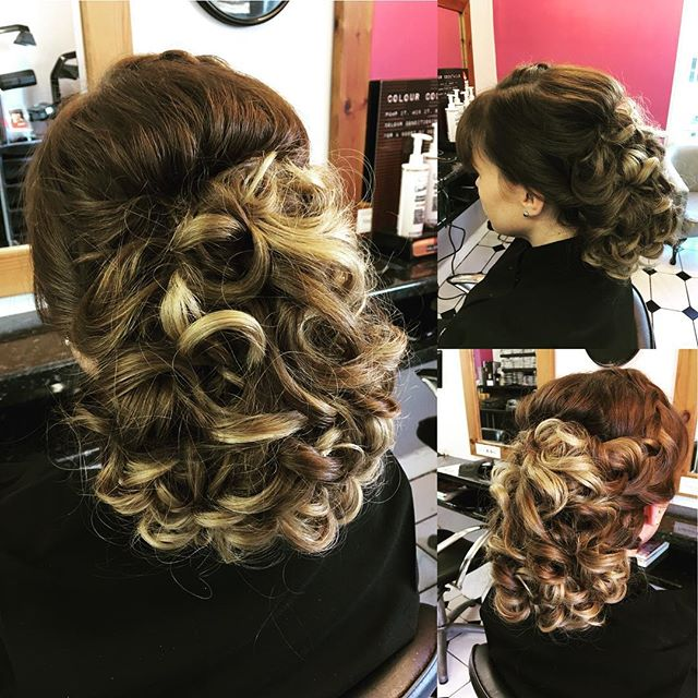 Perfect for going out, weddings, or new year celebrations! Another great hair up done by Zana @trimmershairdressers #weddinghair #newyearhairstyle #hairupdo