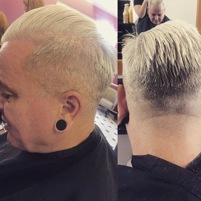 Fantastic men's cut, super tapered and fresh. Done by Joanna @trimmershairdressers #supertaper #fresh