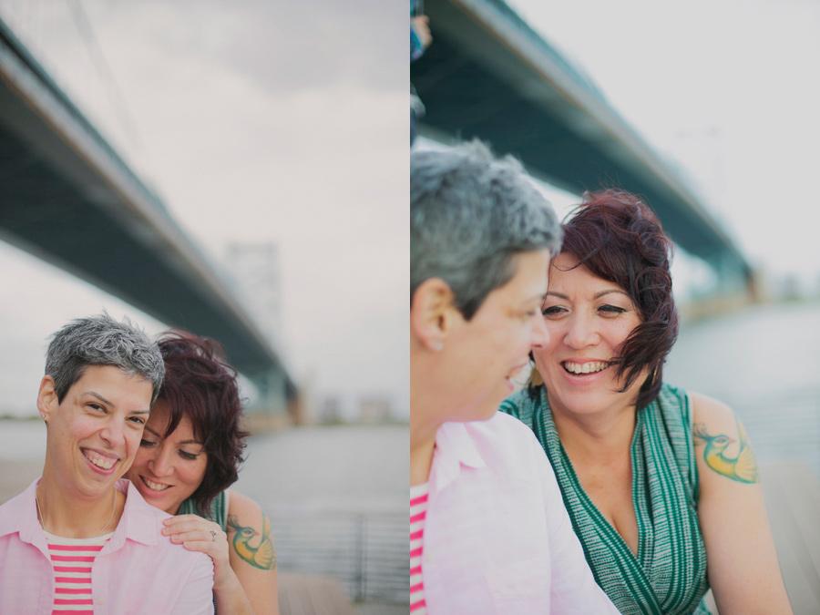 Philadelphia Same sex wedding photograph