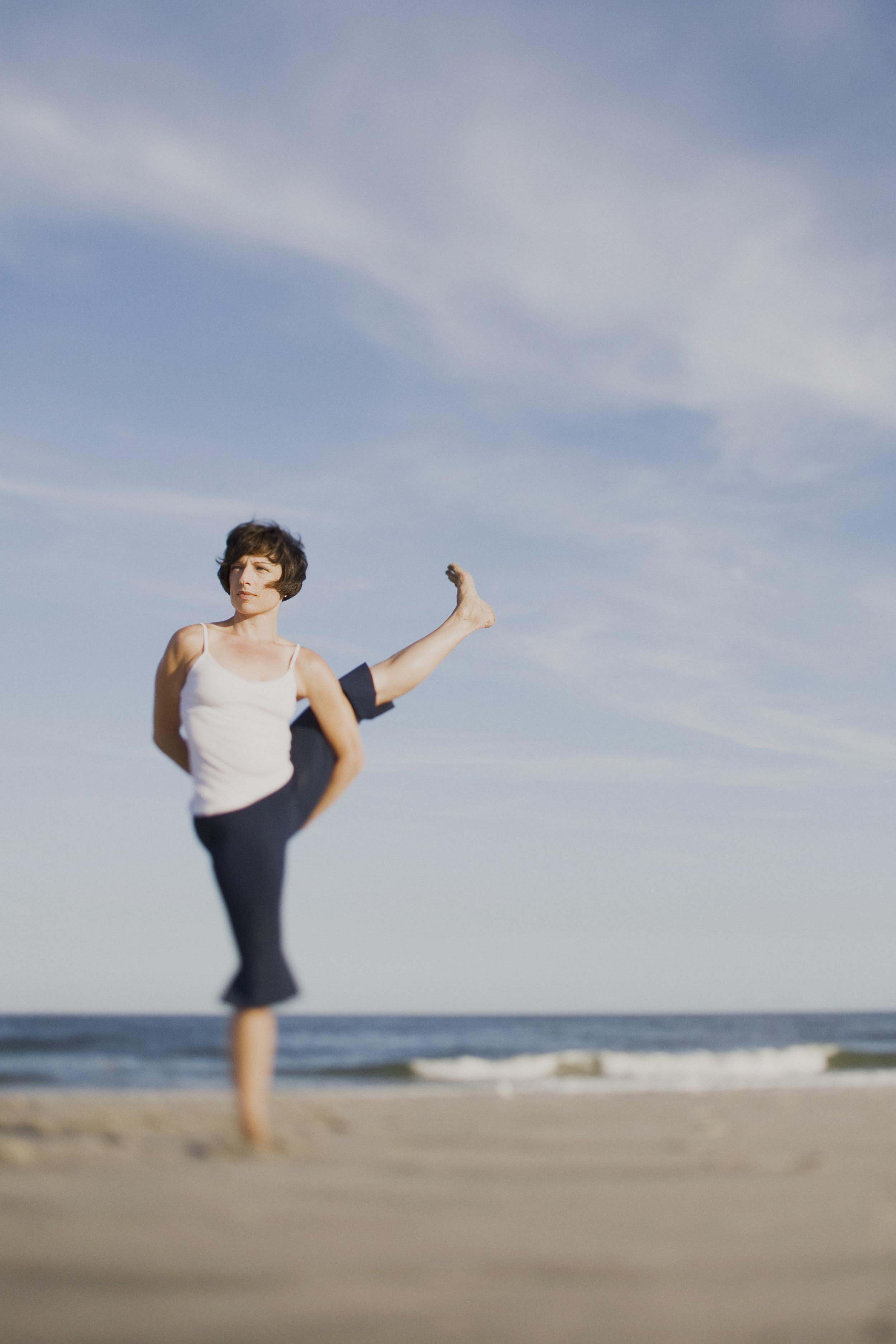 Beach Yoga Photographer