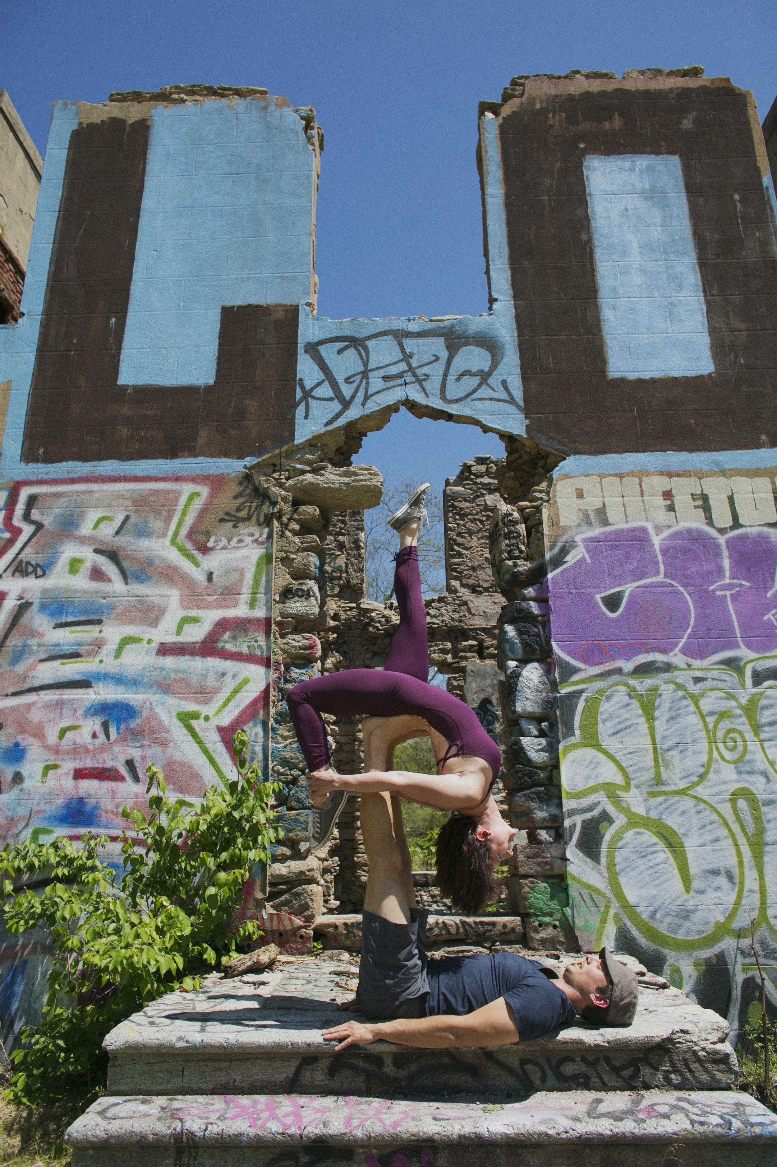 Philadelphia Acro Yoga Photography