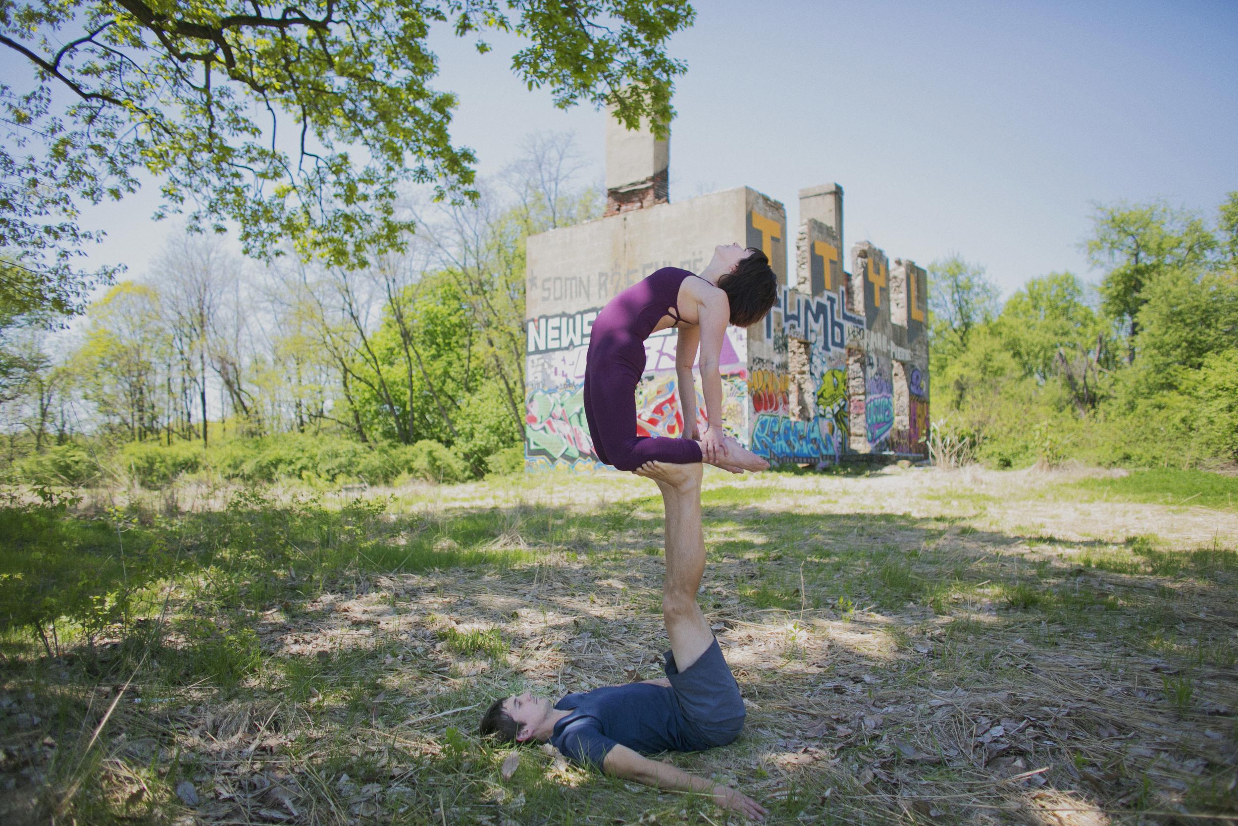 Acro Yoga Photography