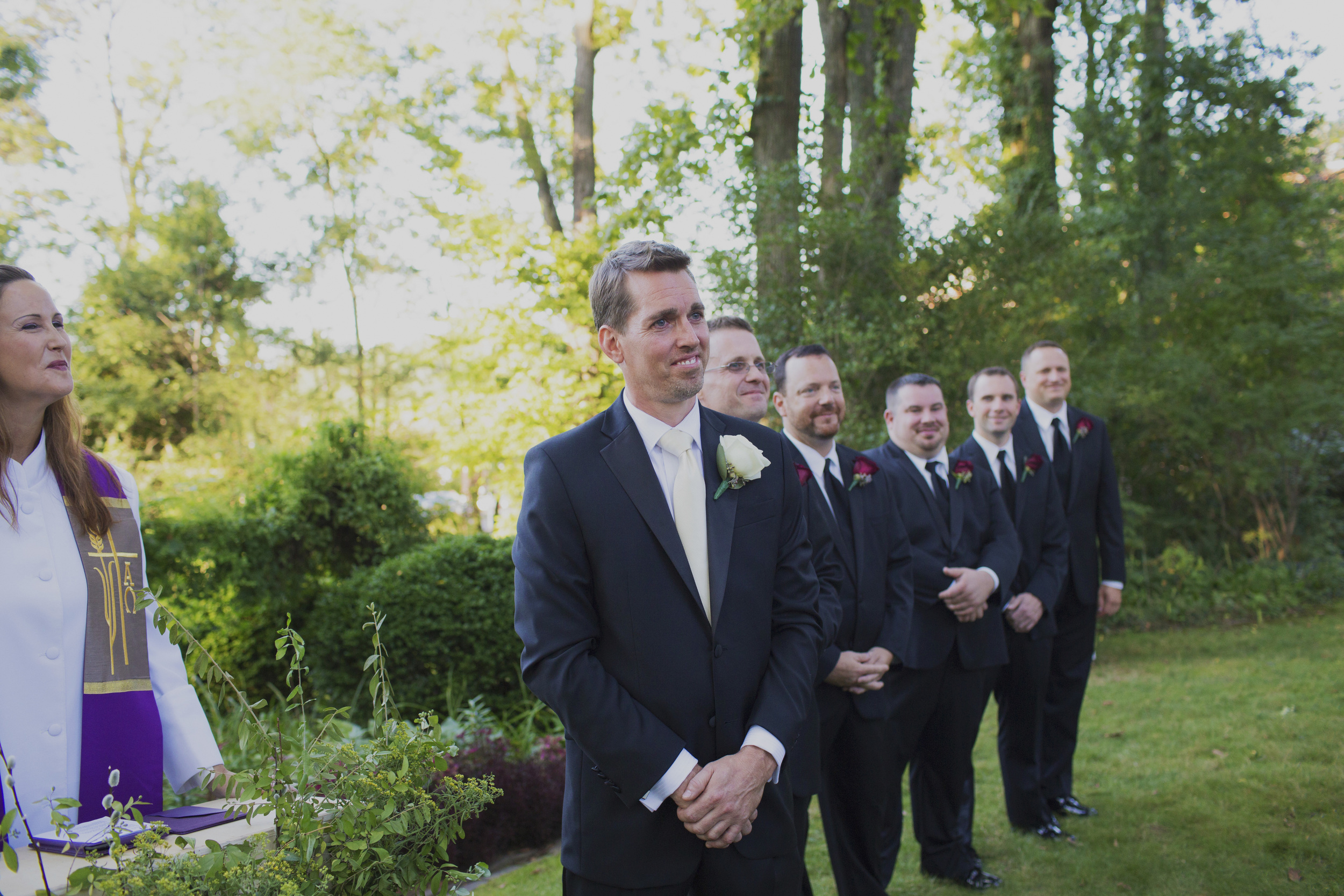 NJ Outdoor wedding