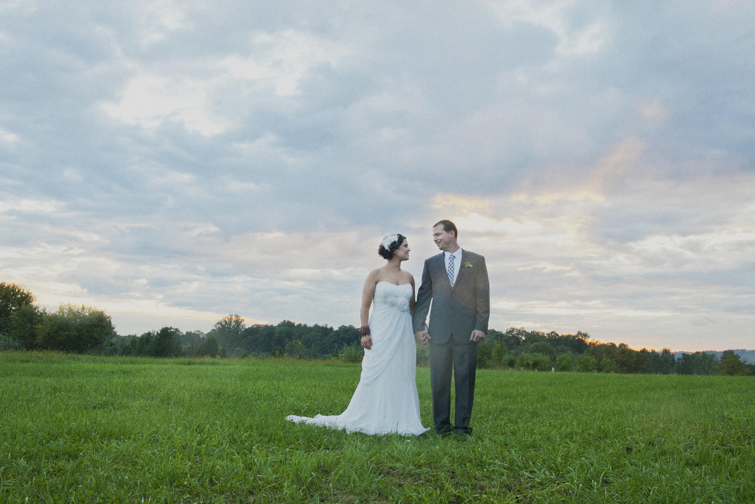 Doylestown backyard wedding
